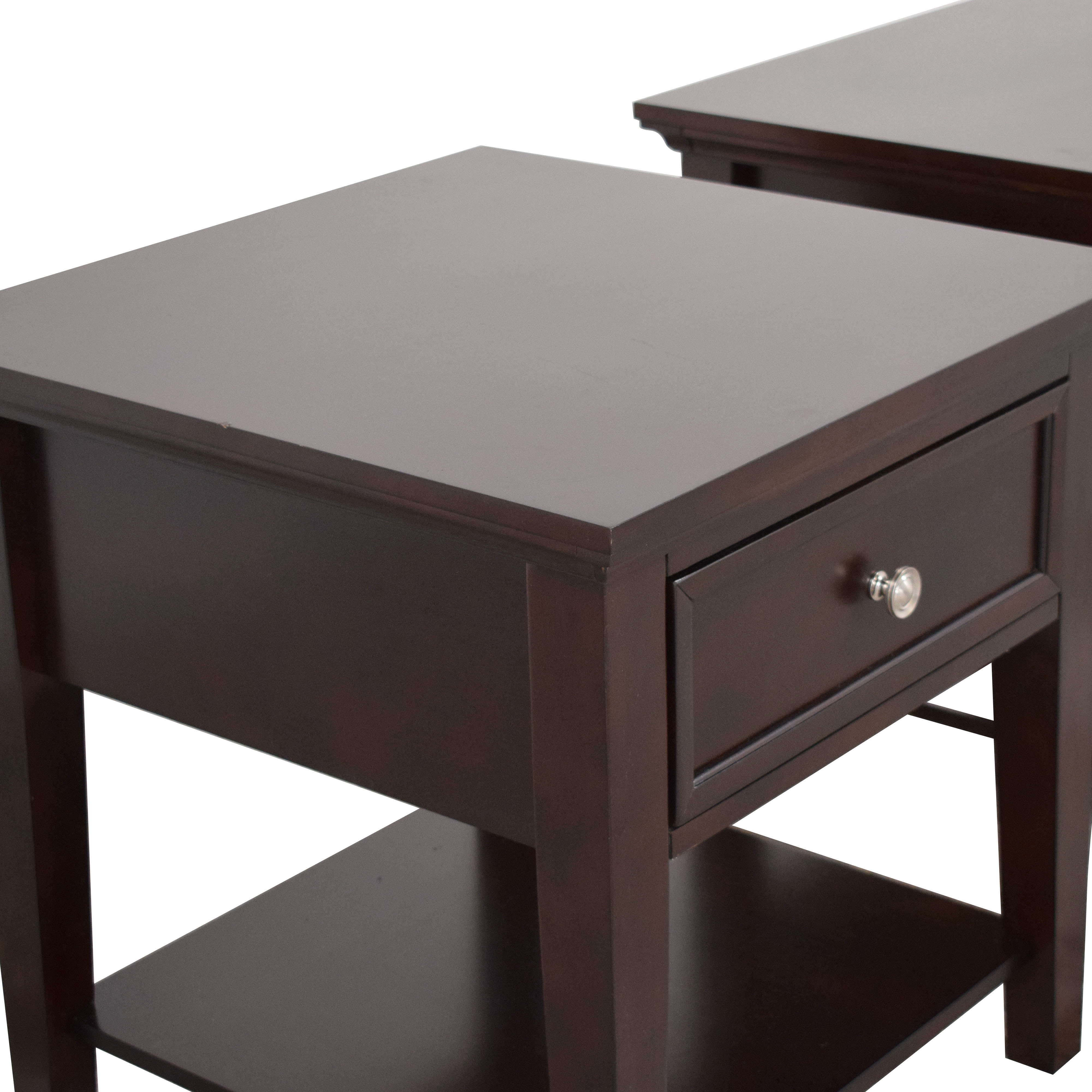 Coaster Fine Furniture Coaster Single Drawer Cappuccino End Tables discount