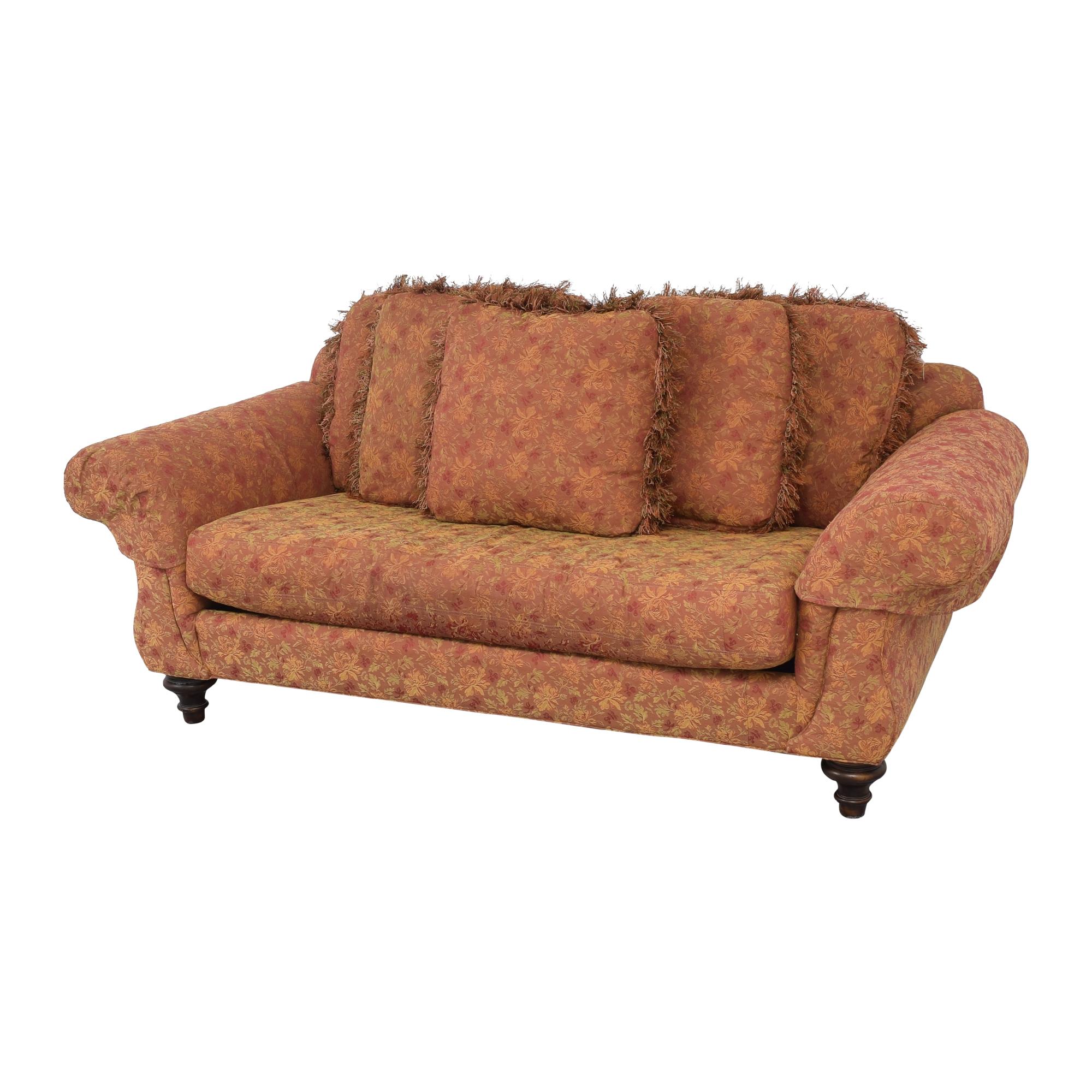 Vanguard Furniture Vanguard Single Cushion Sofa dimensions