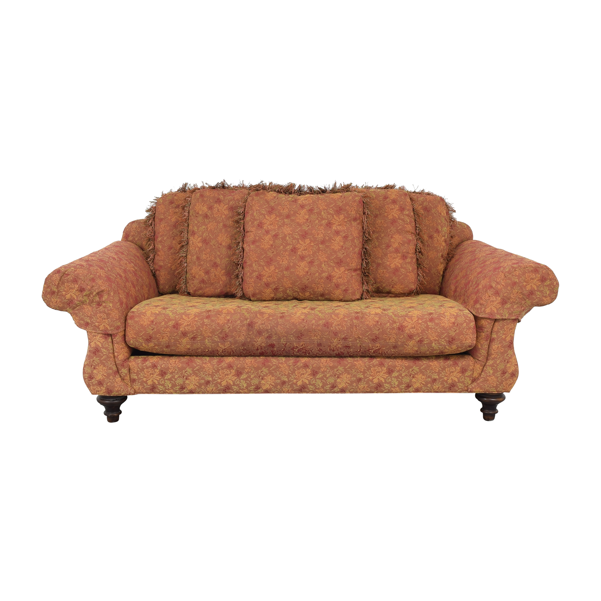 Vanguard Furniture Vanguard Single Cushion Sofa dimensions