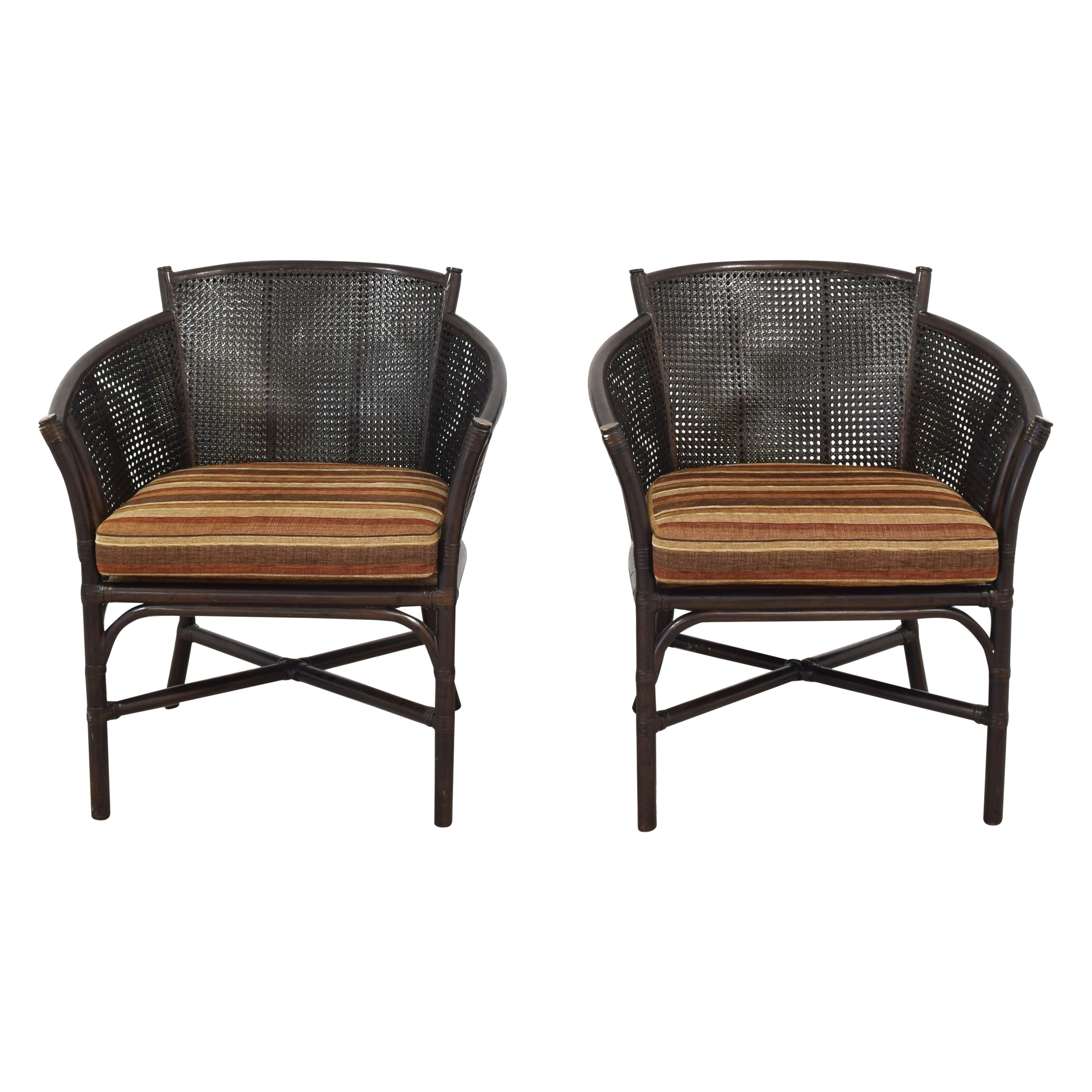 Ficks Reed Ficks Reed Vintage Chairs discount
