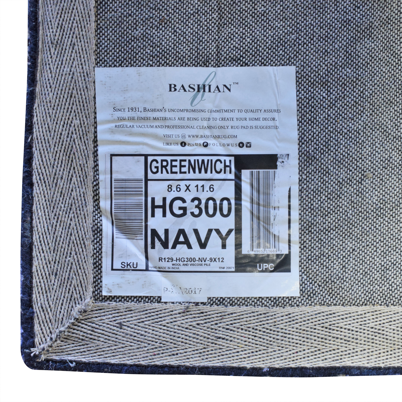Bashian Rugs Bashian Greenwich Rug blue & grey