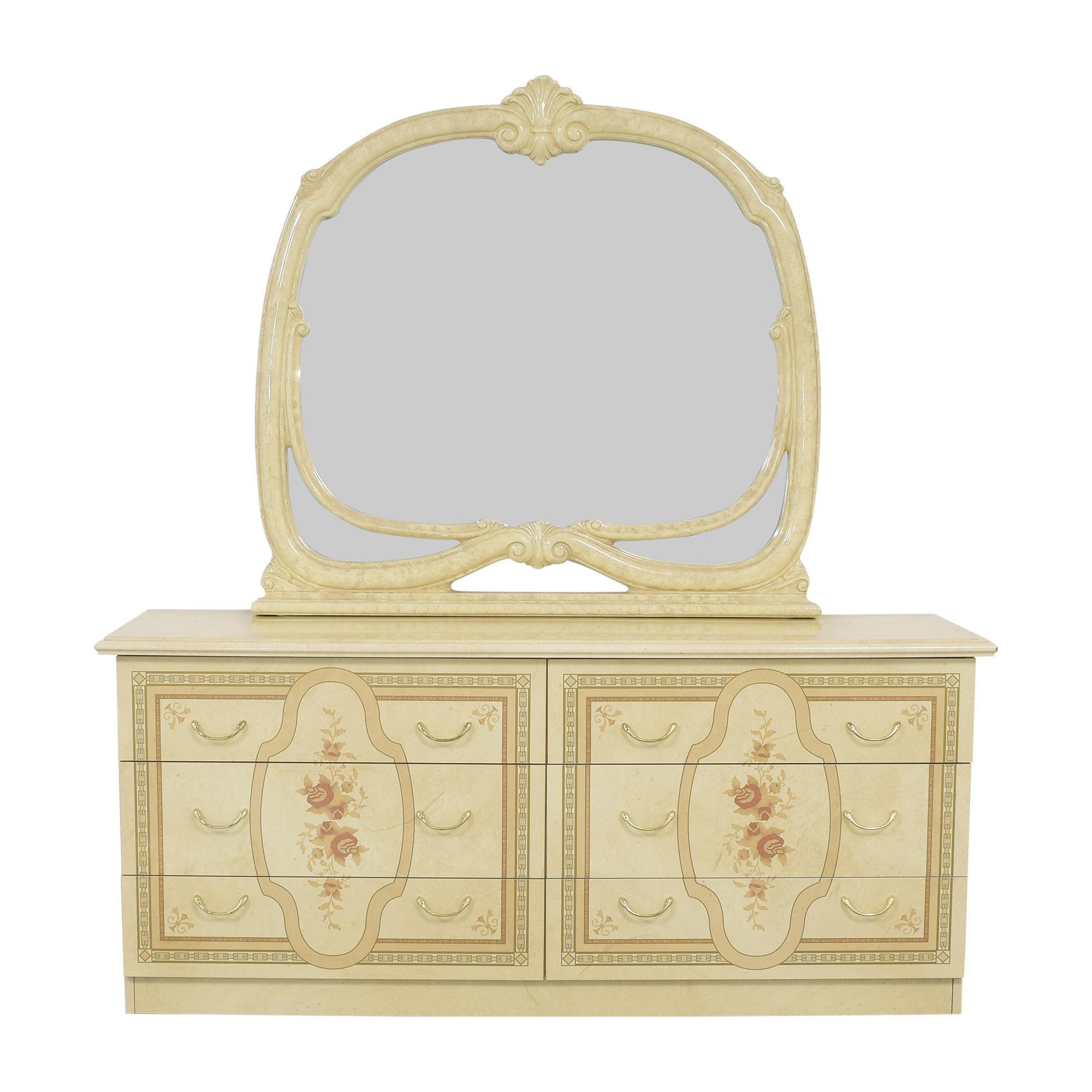 shop Roma Furniture Roma Furniture Dresser with Mirror online