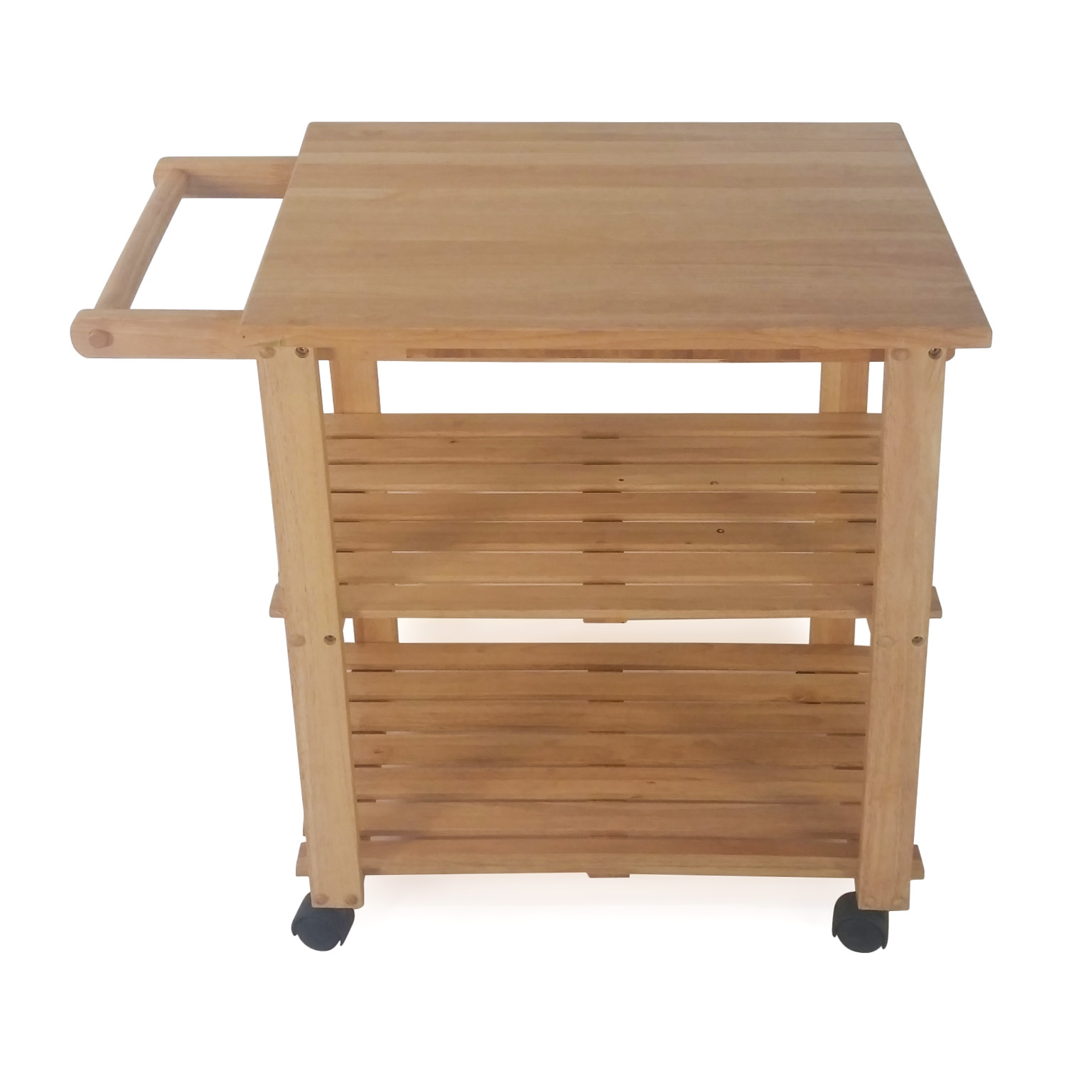 62 off ikea ikea varde kitchen butcher block island for Kitchen table with insert