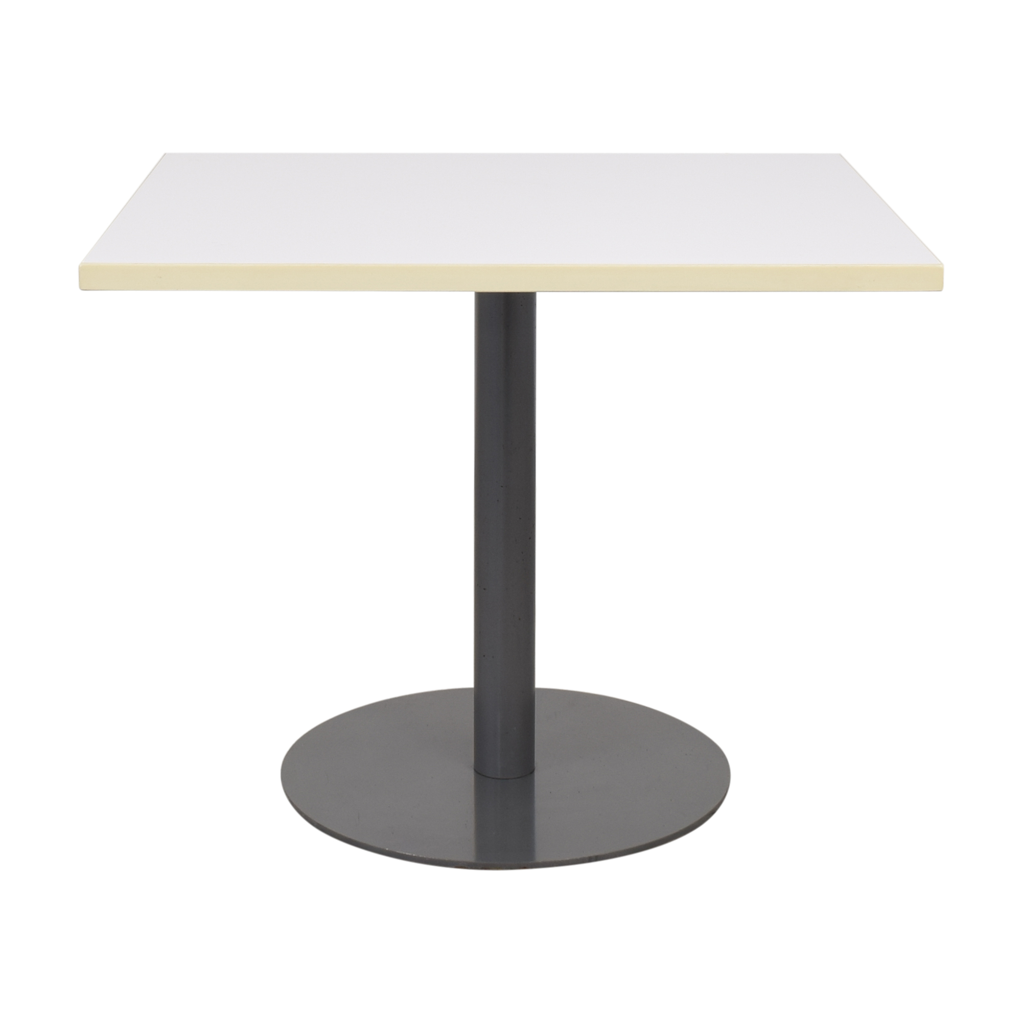 Square Pedestal Table or End Table / Tables