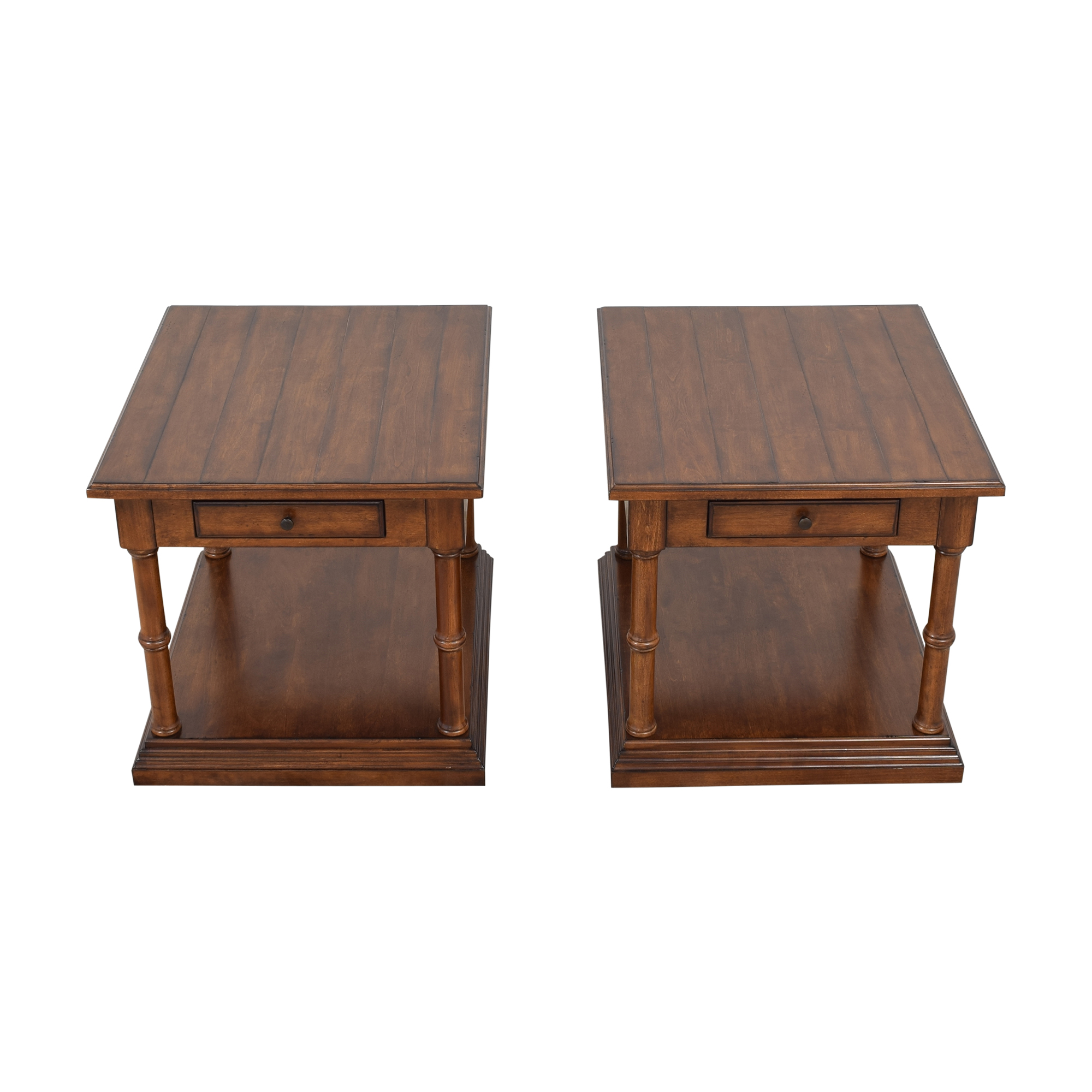Thomasville Two Tier End Tables Thomasville