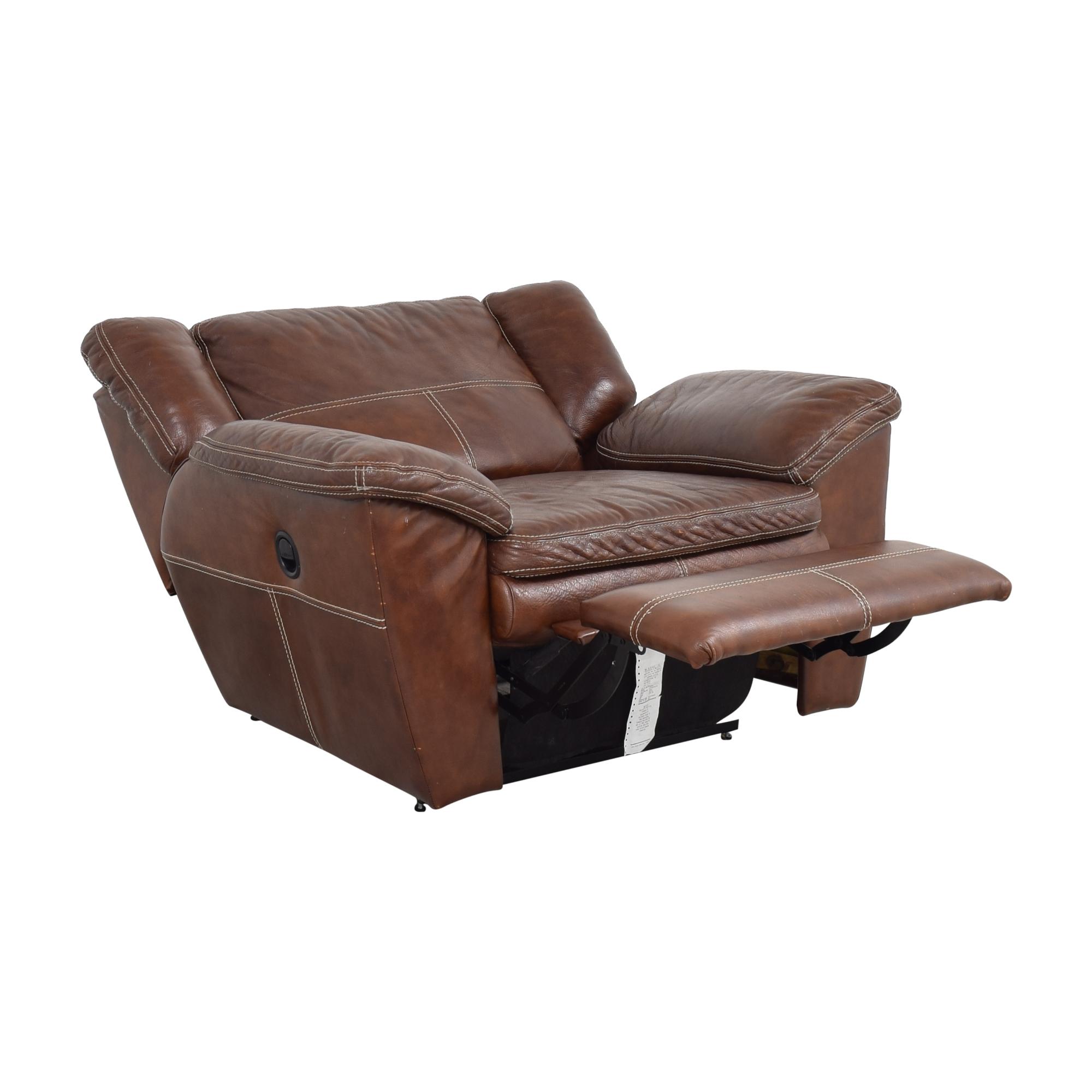 La-Z-Boy La-Z-Boy Leather Recliner Chair Recliners