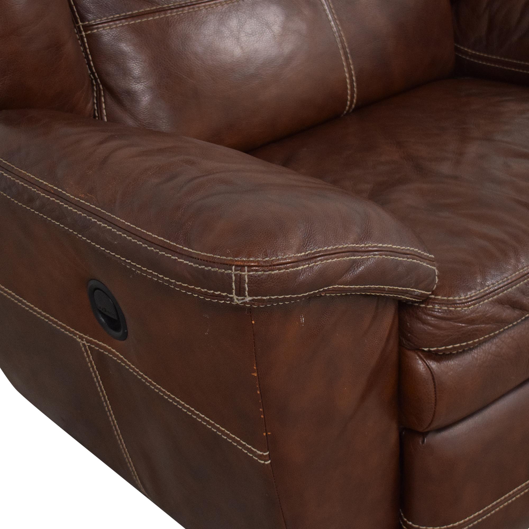 La-Z-Boy La-Z-Boy Leather Recliner Chair nj