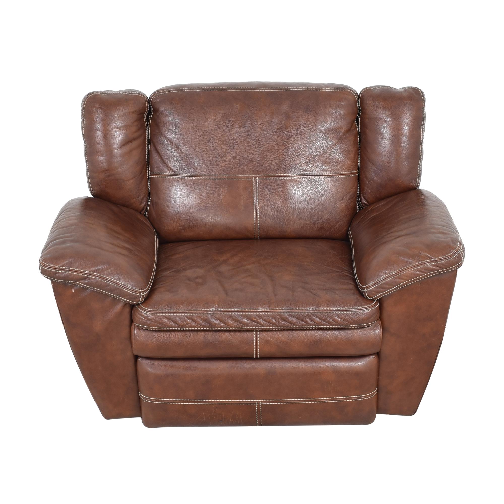 La-Z-Boy La-Z-Boy Leather Recliner Chair discount