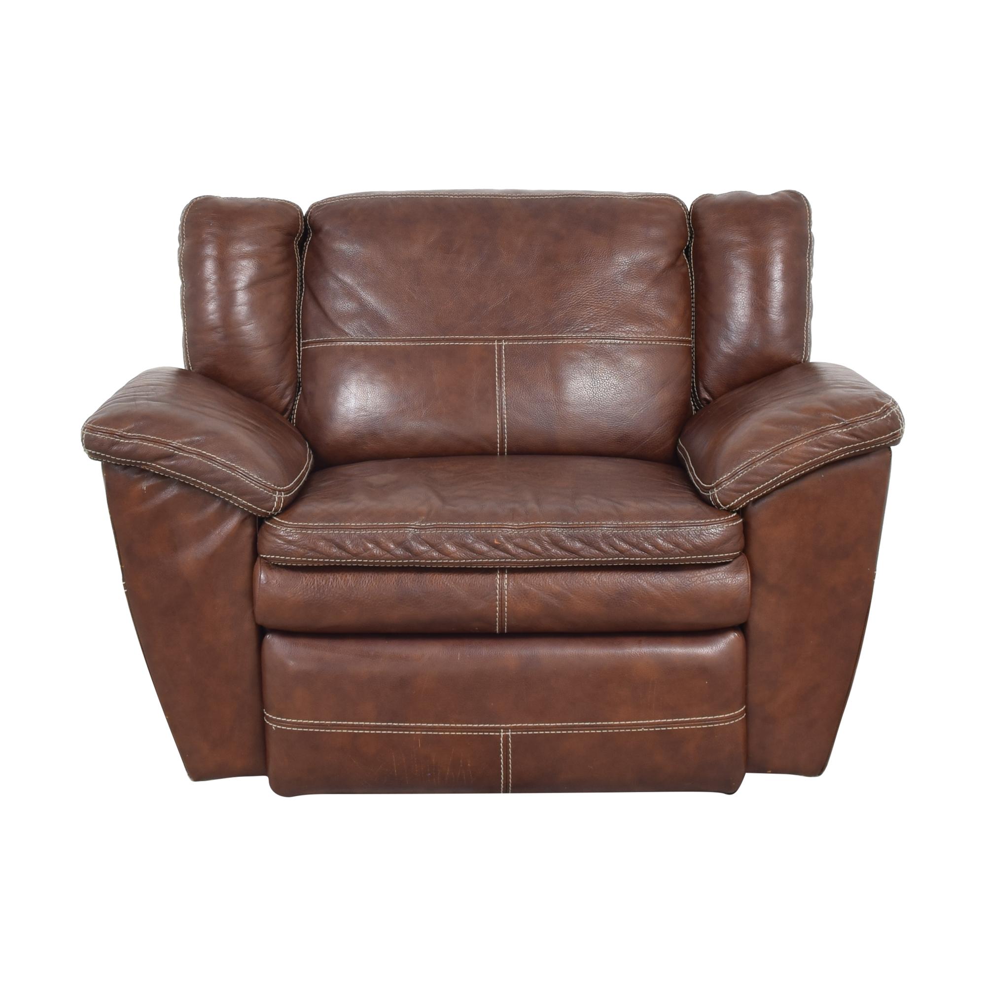 La-Z-Boy La-Z-Boy Leather Recliner Chair used