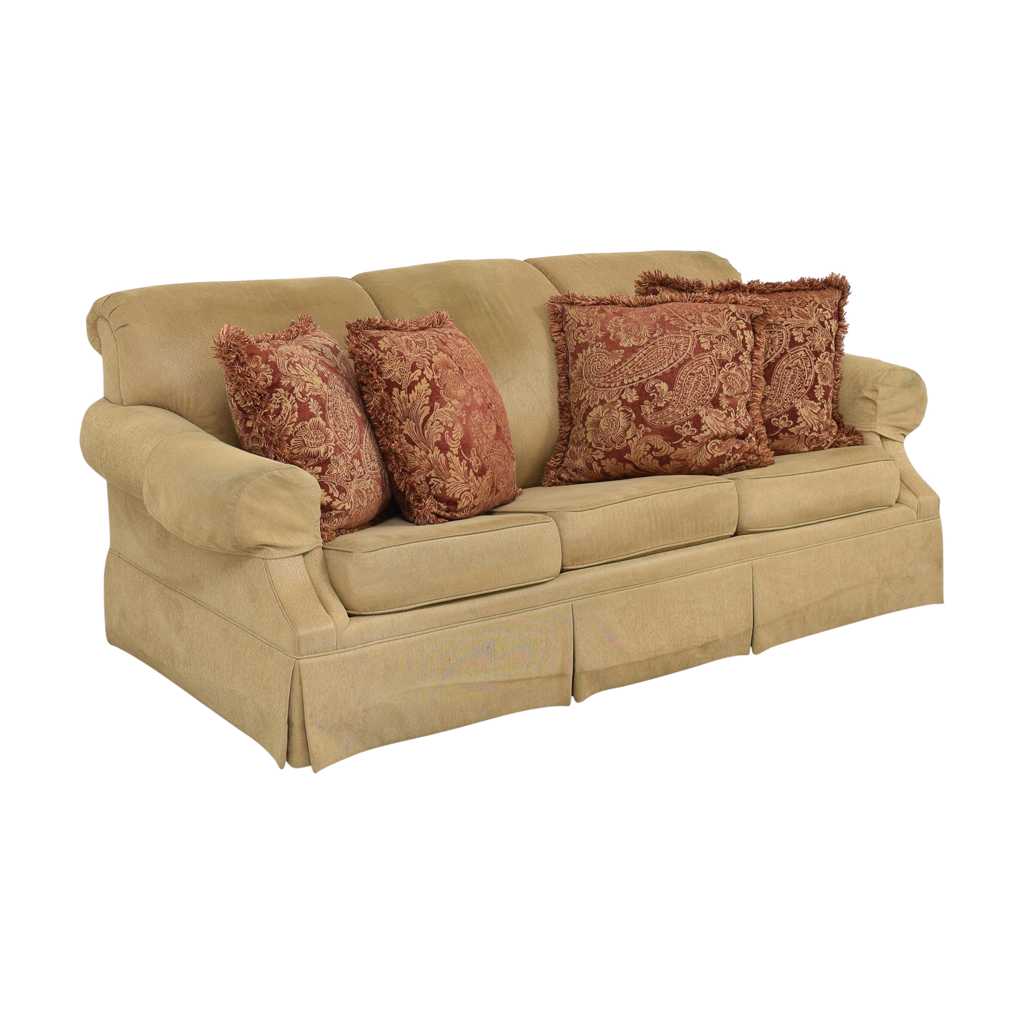 Drexel Heritage Drexel Heritage Roll Arm Queen Sleeper Sofa