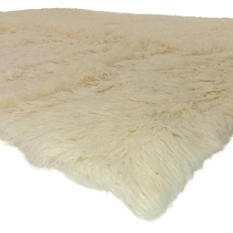 nuLOOM nuLOOM Flokati Wool Shag Rug Decor