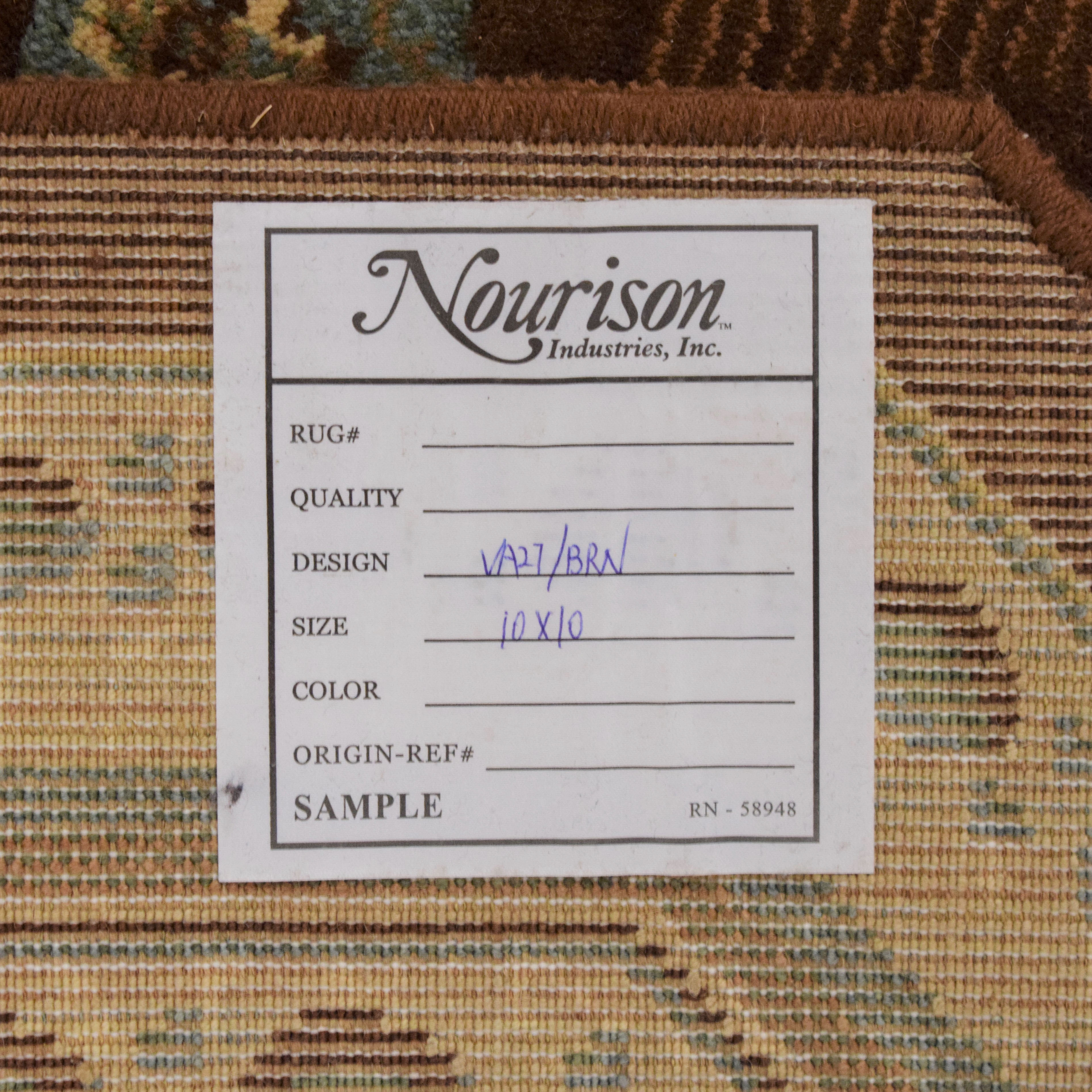shop Nourison Octagon Area Rug Nourison