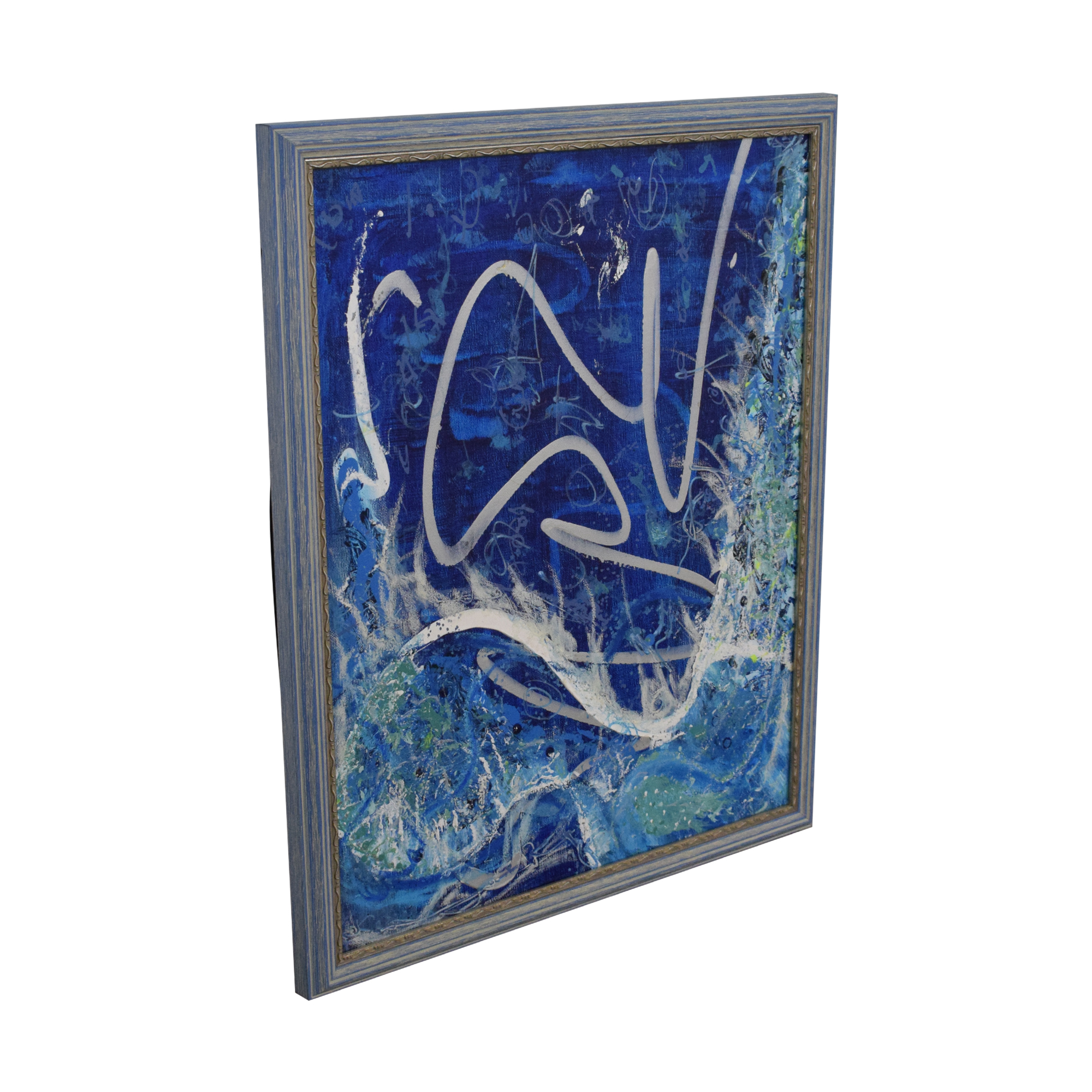 Abstract Framed Wall Art second hand