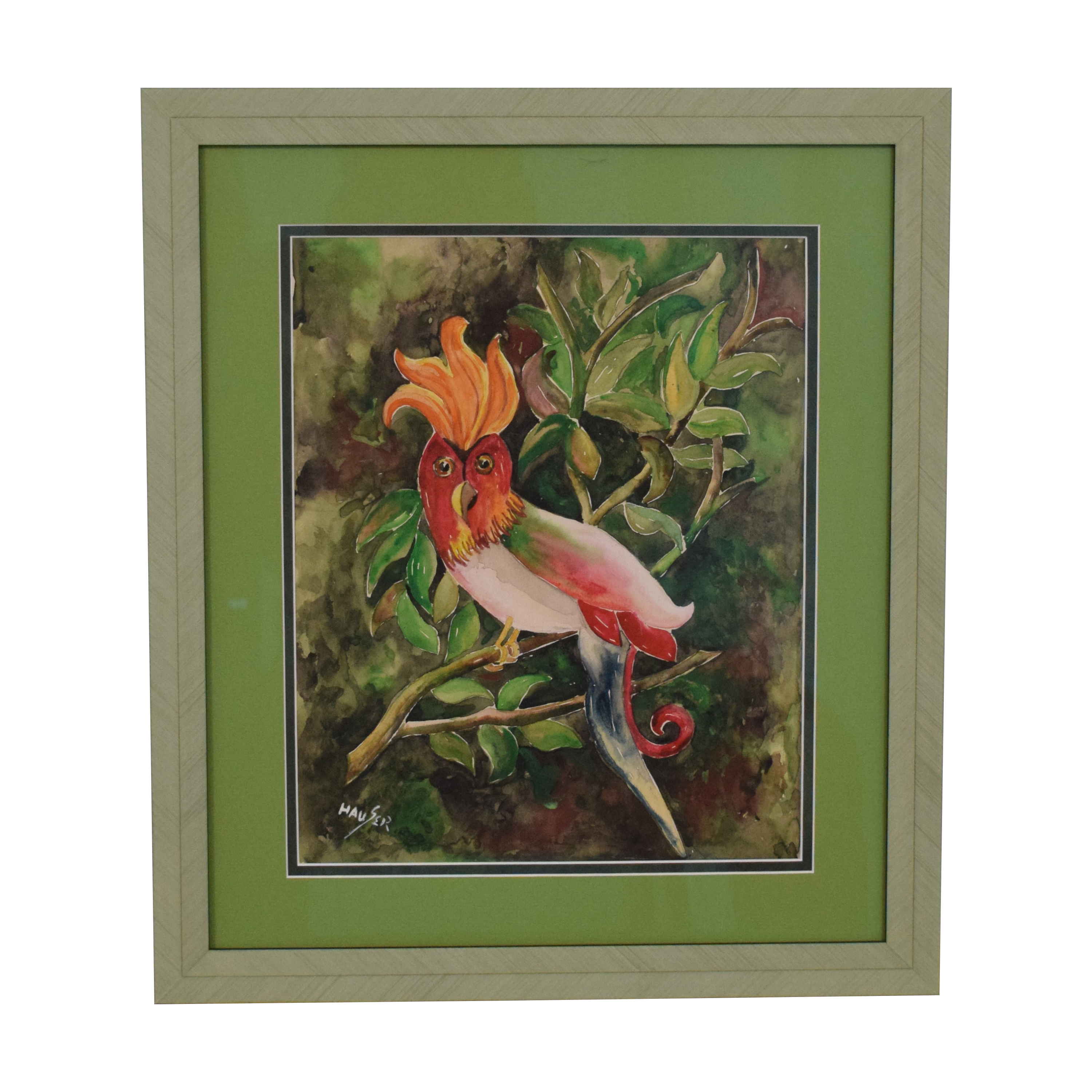 shop Cockatiel Art Frame
