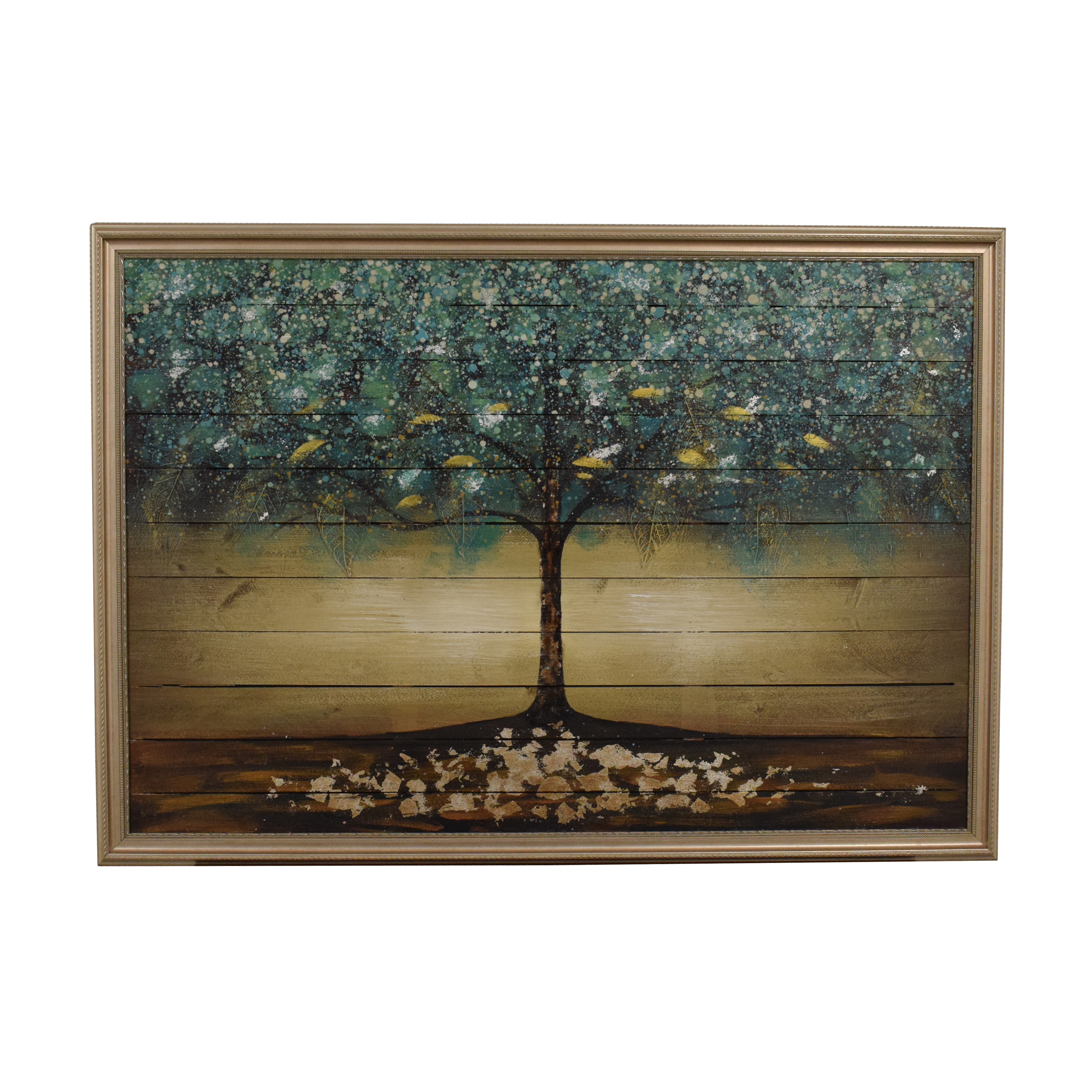 Framed Tree Wall Art / Wall Art