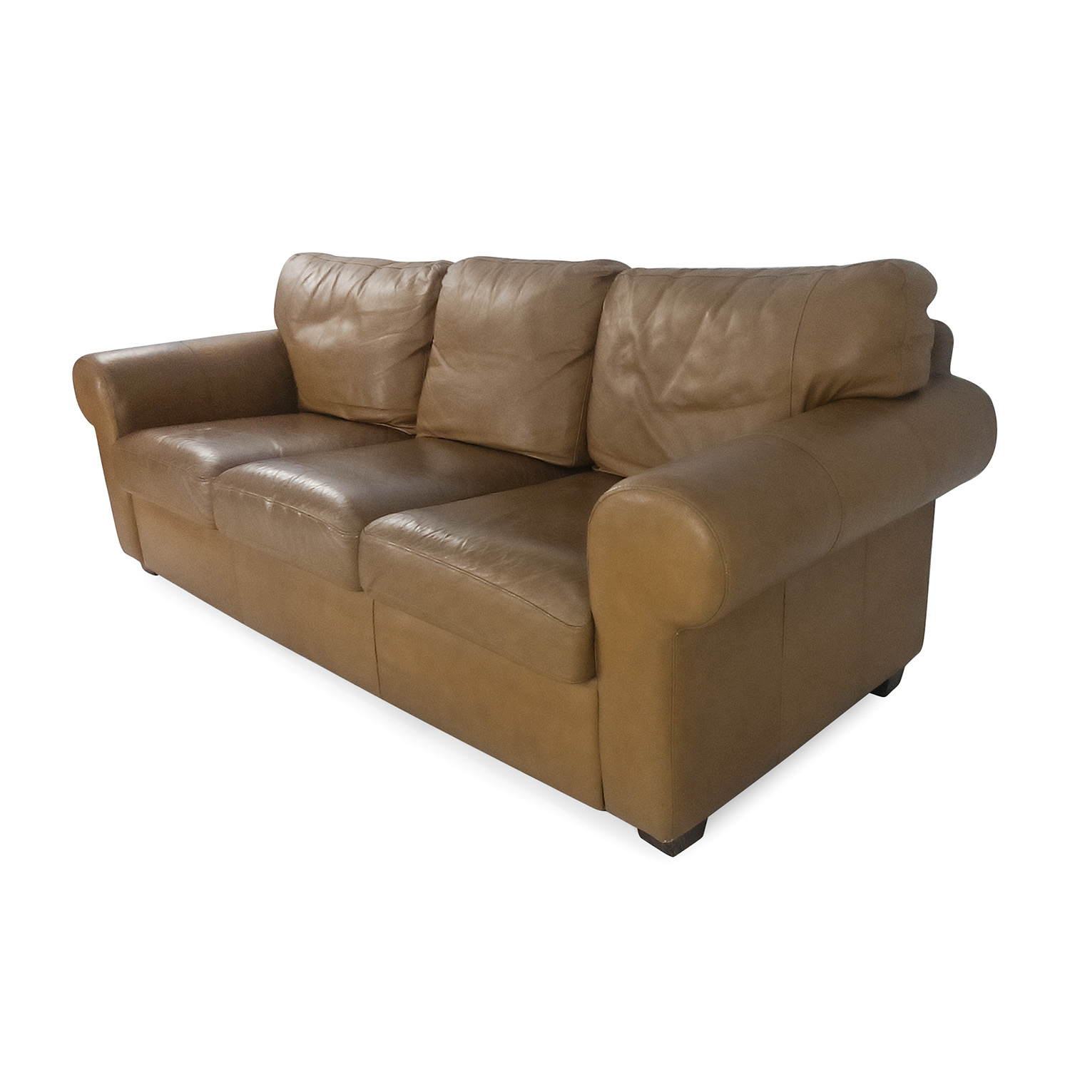 54 Off Crate And Barrel Crate And Barrel Leather Couch