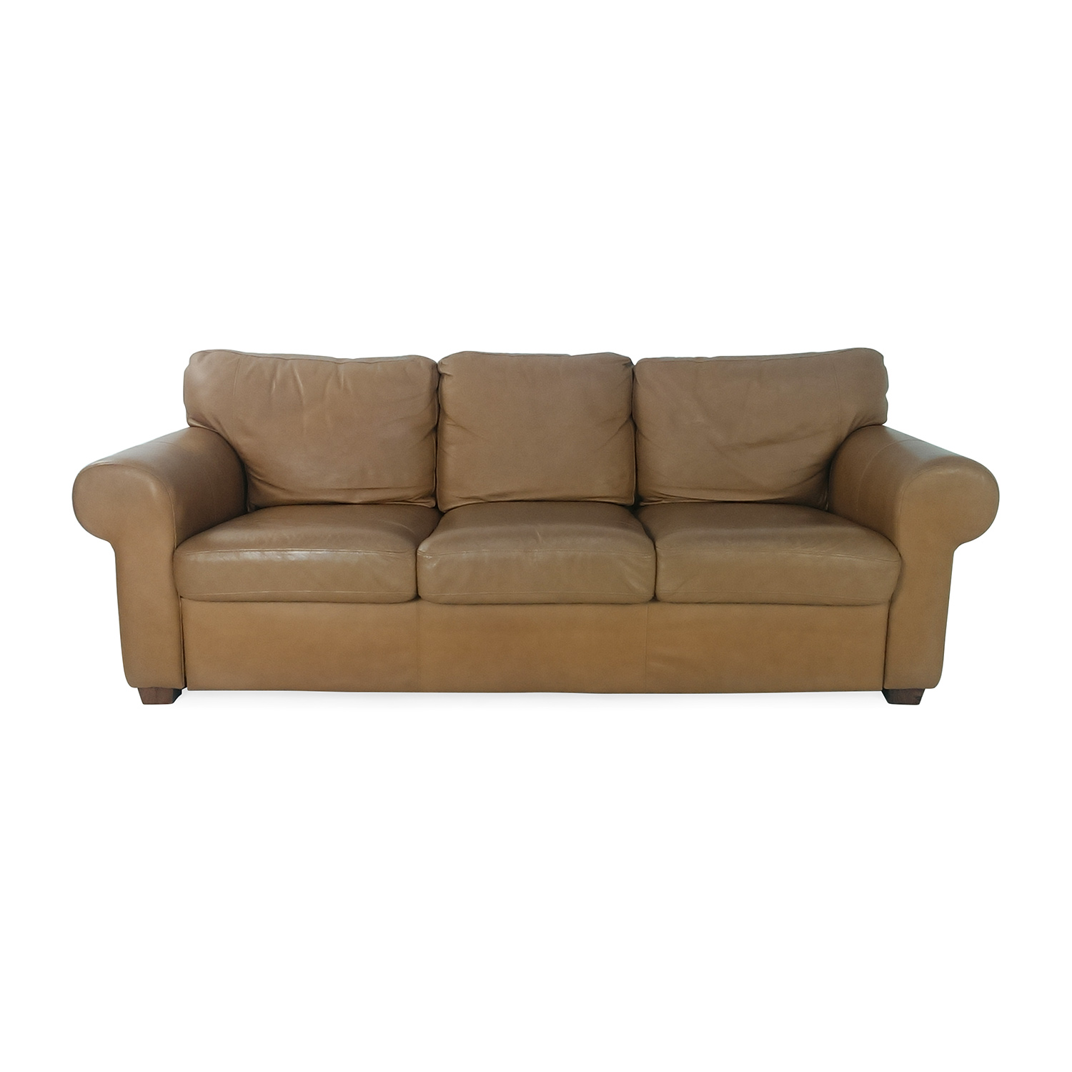 Crate and Barrel Crate and Barrel Leather Couch discount