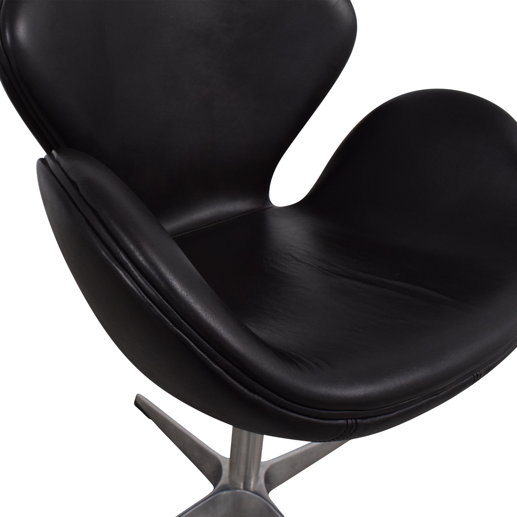 buy ABC Carpet & Home Jacobsen-Style Swan Chair ABC Carpet & Home Chairs
