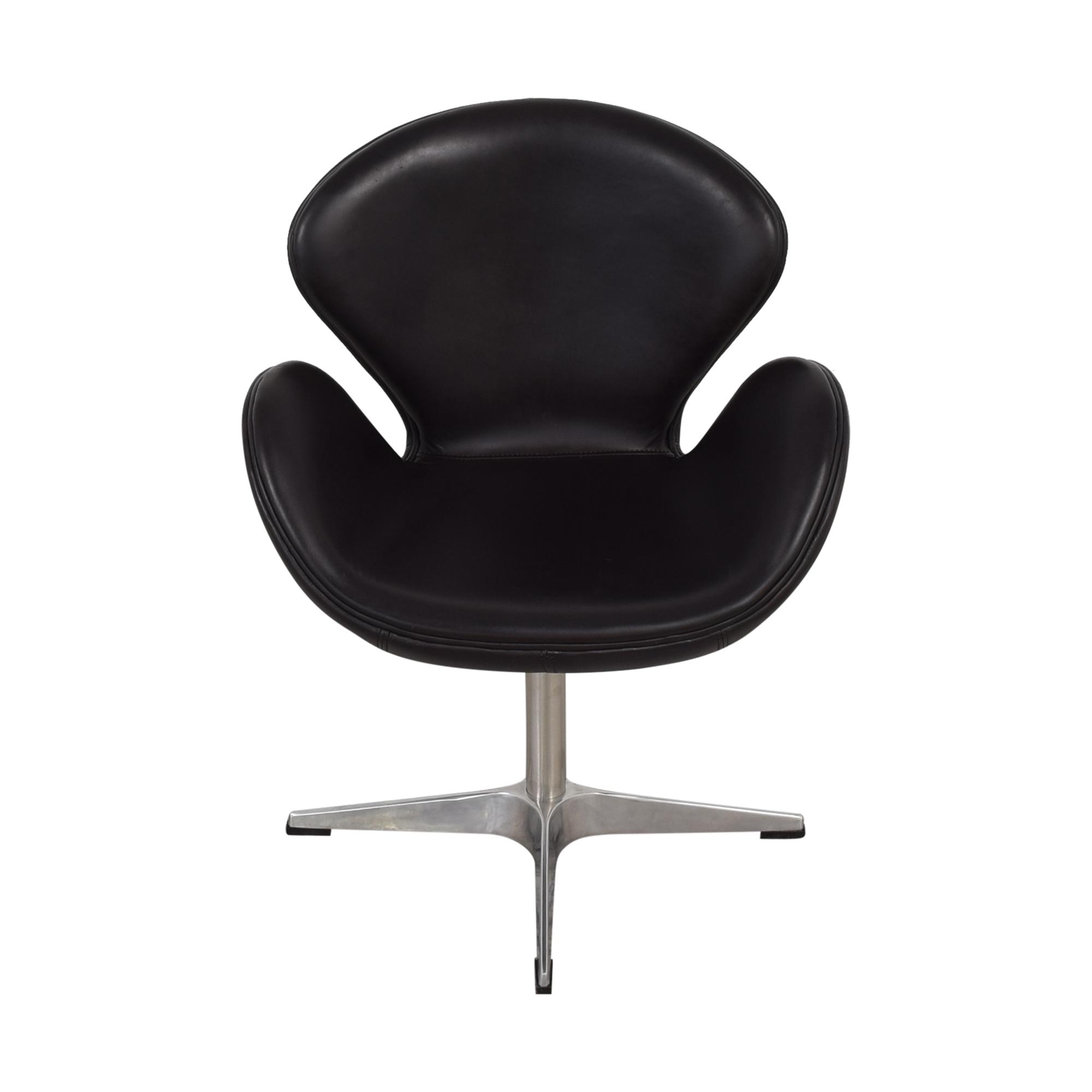 shop ABC Carpet & Home Jacobsen-Style Swan Chair ABC Carpet & Home Chairs