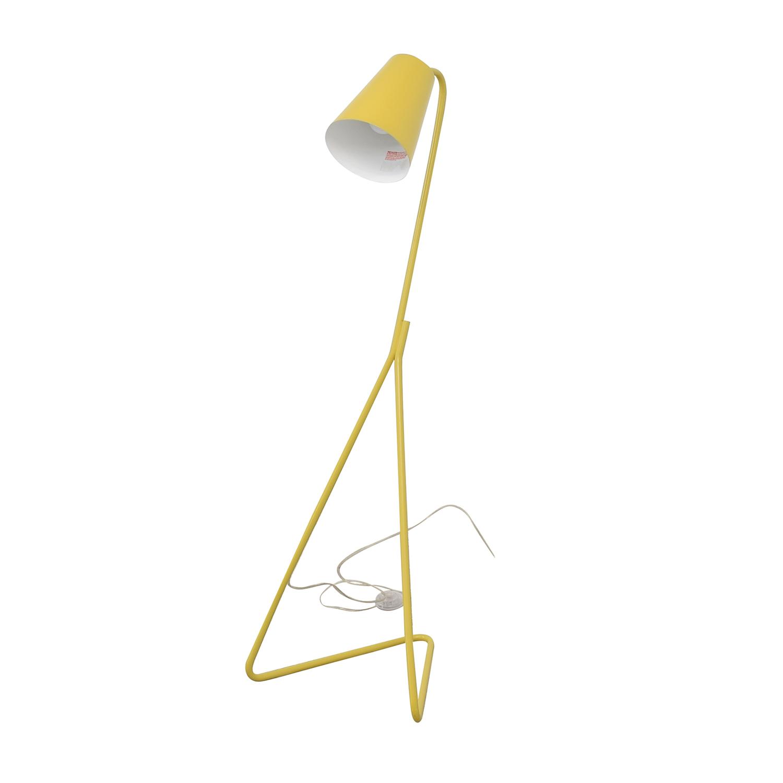 Crate & Barrel Mick Floor Lamp sale