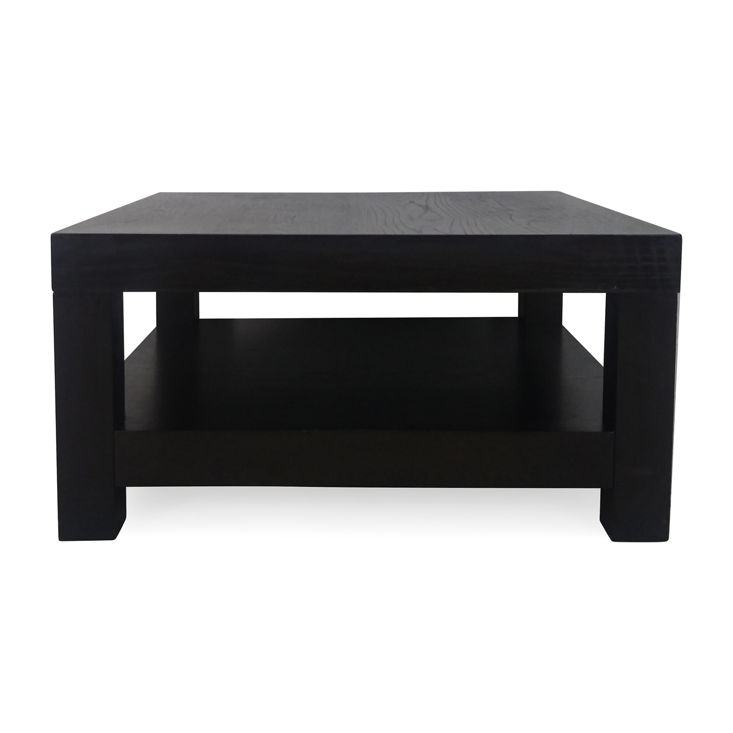55% OFF Two Toned Wood Coffee Table Tables