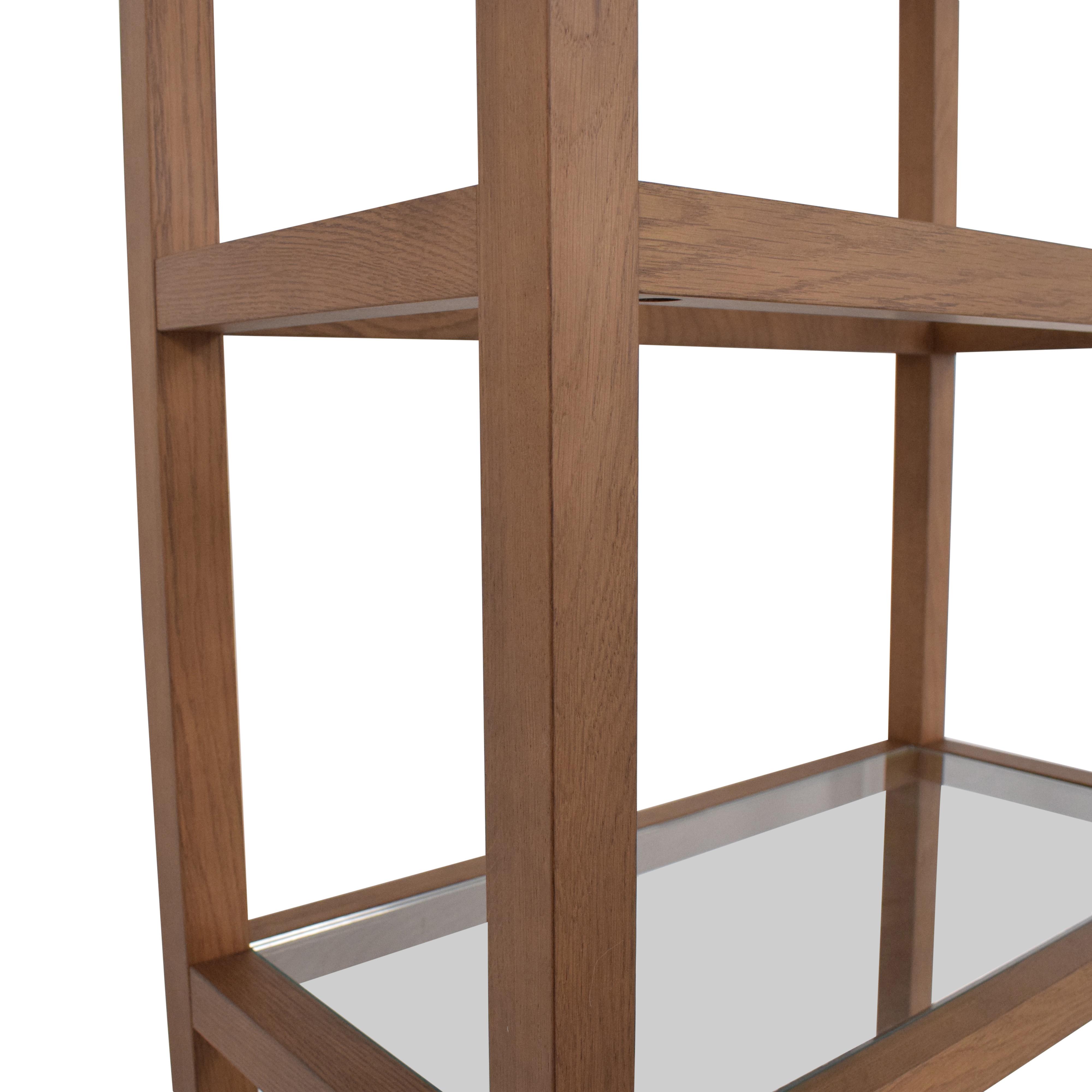 buy Crate & Barrel Anderson Bookcase Crate & Barrel Storage