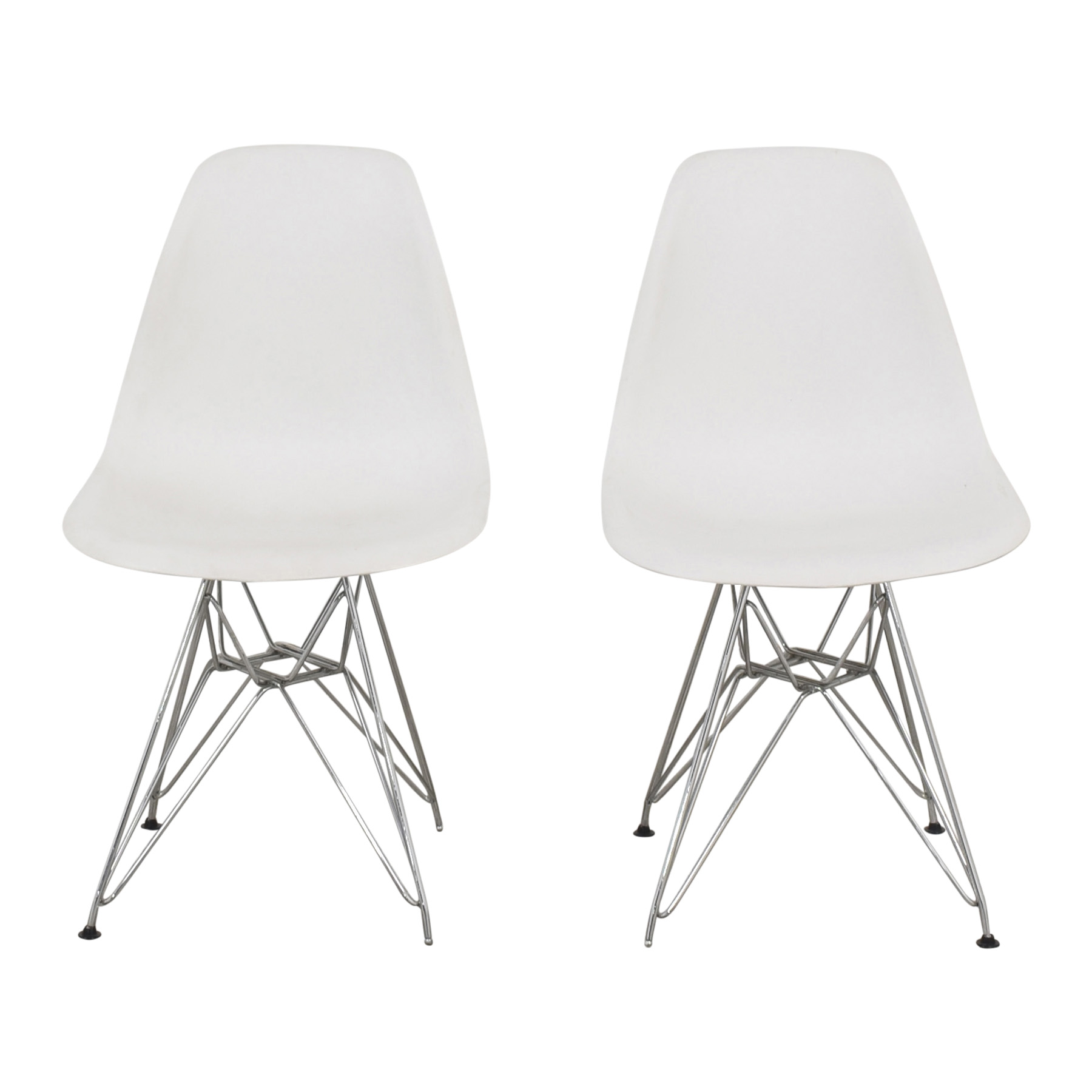Eames-Style Molded Dining Chairs Chairs