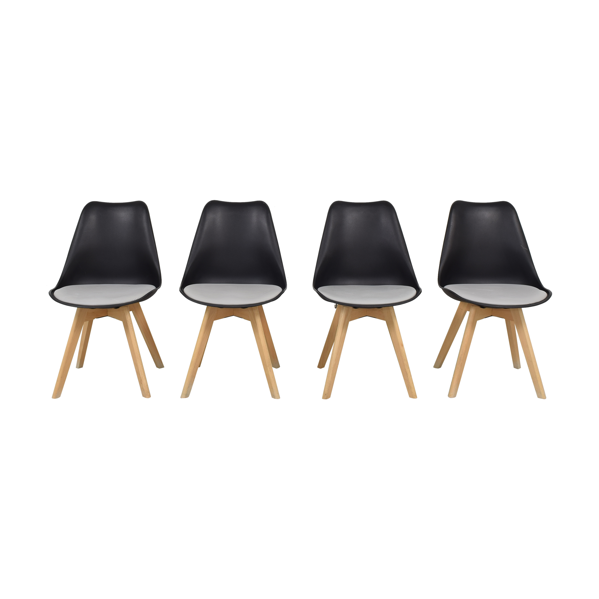 Molded Plastic Dining Chairs ma
