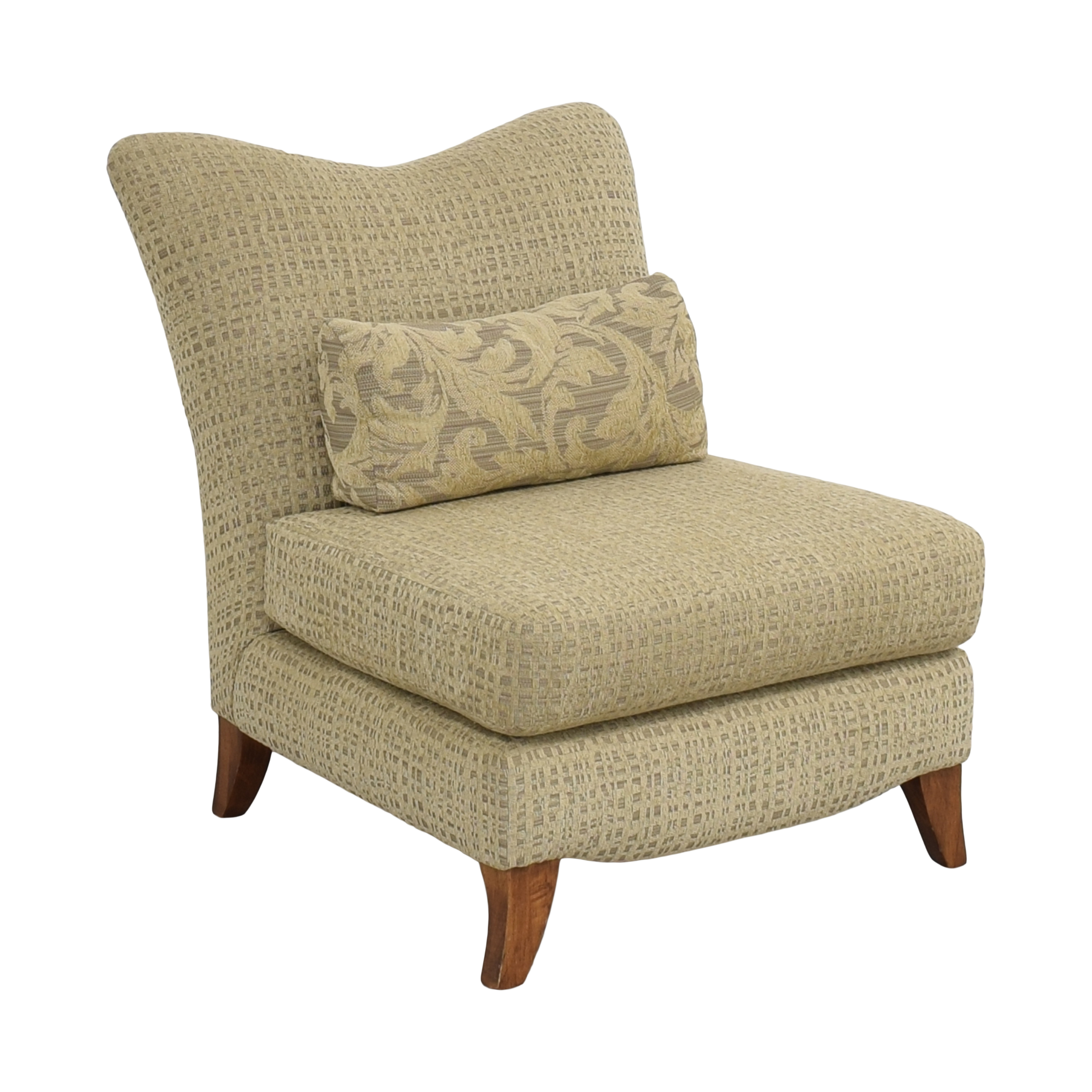 Upholstered Slipper Chair Chairs