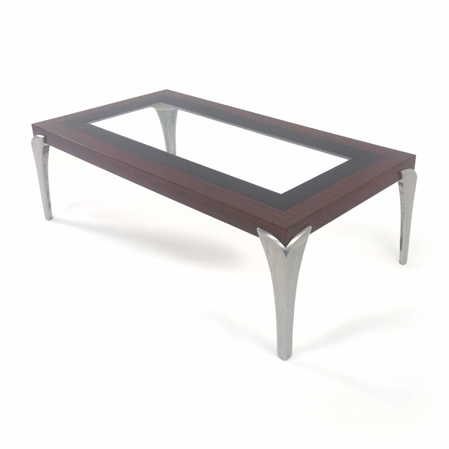 57 off glass and wood coffee table tables Coffee table buy