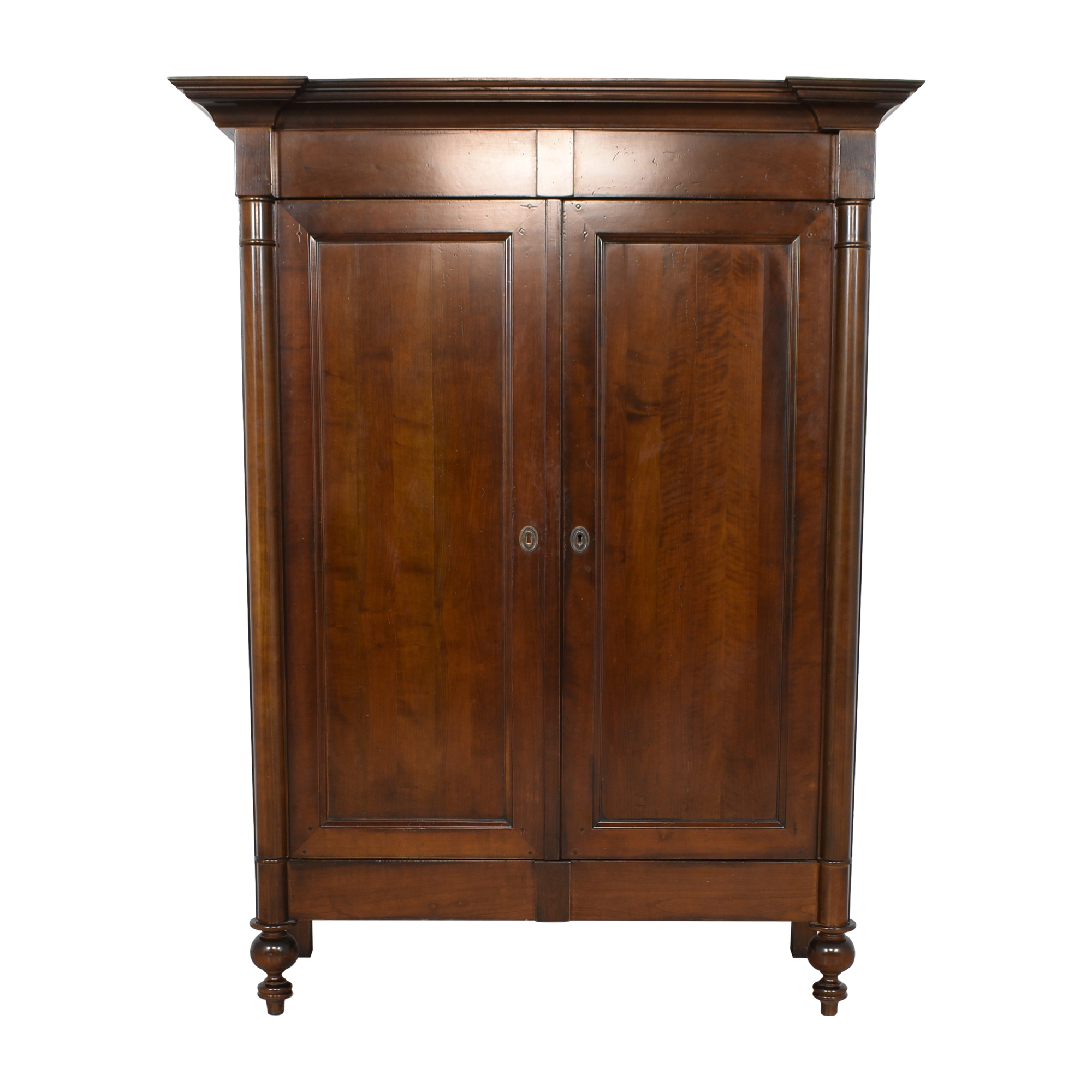 Grange Grange Locking French Armoire used