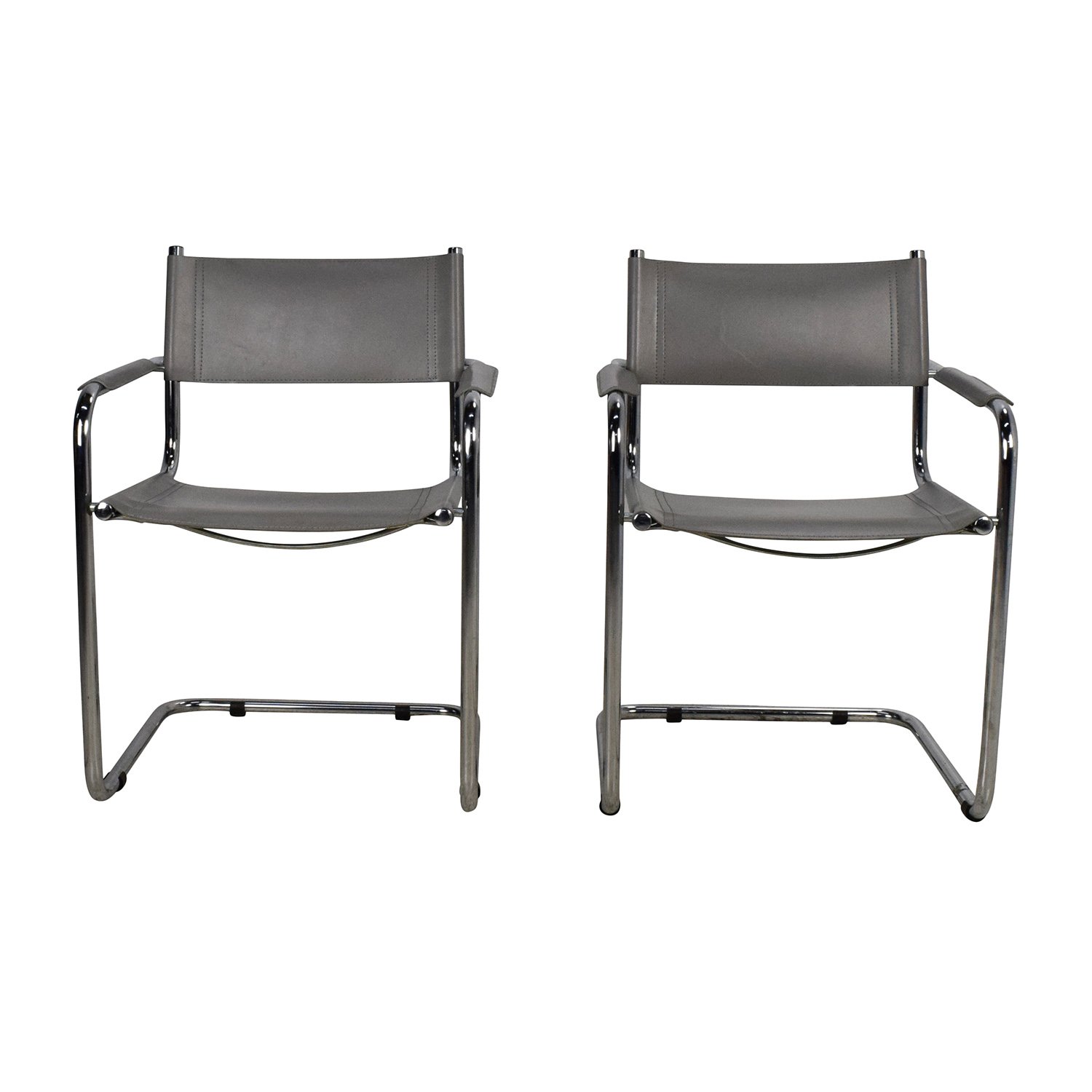 Pair of Sling Chairs / Accent Chairs