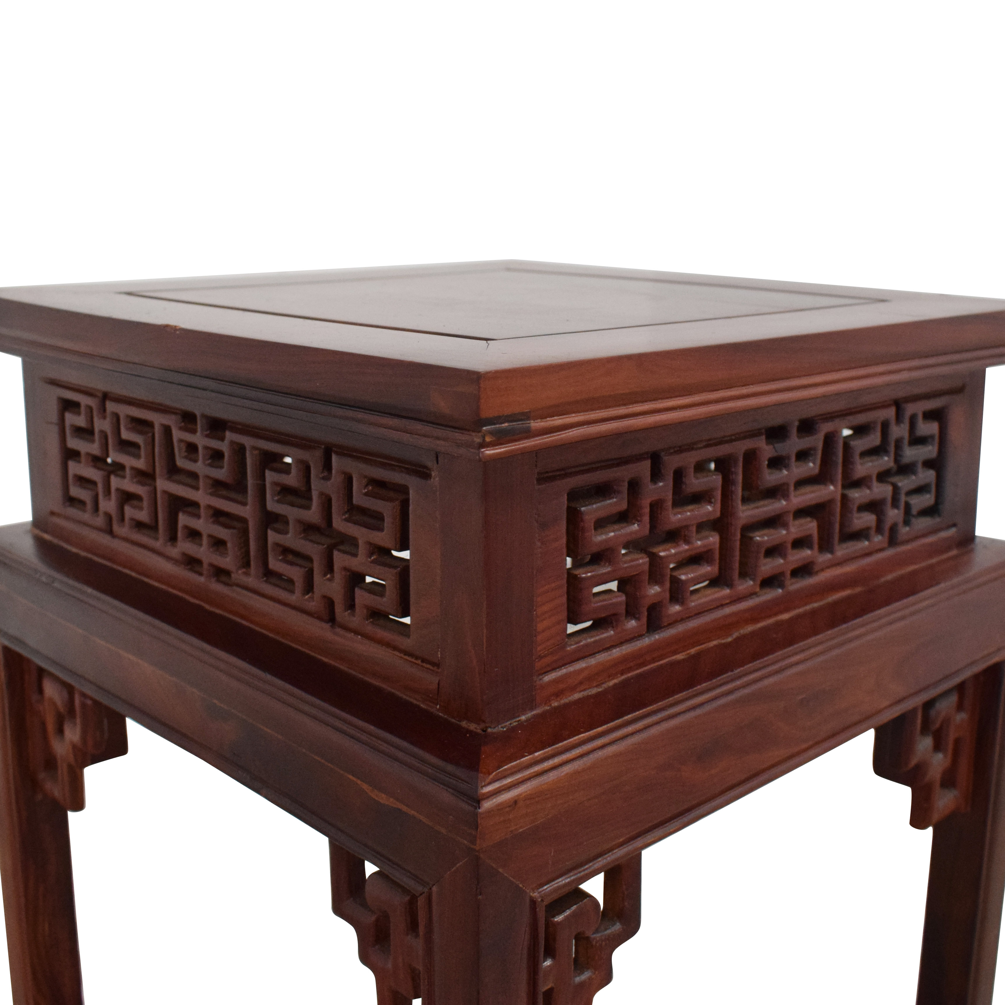 buy Custom Carved Side Table  Accent Tables