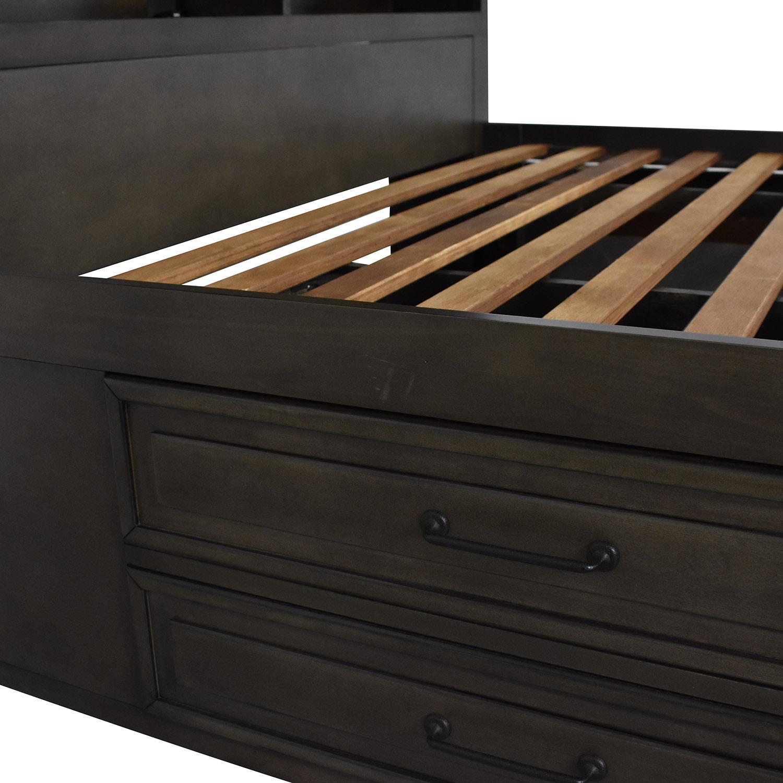Raymour & Flanigan Raymour & Flanigan Full Storage Bed Frame
