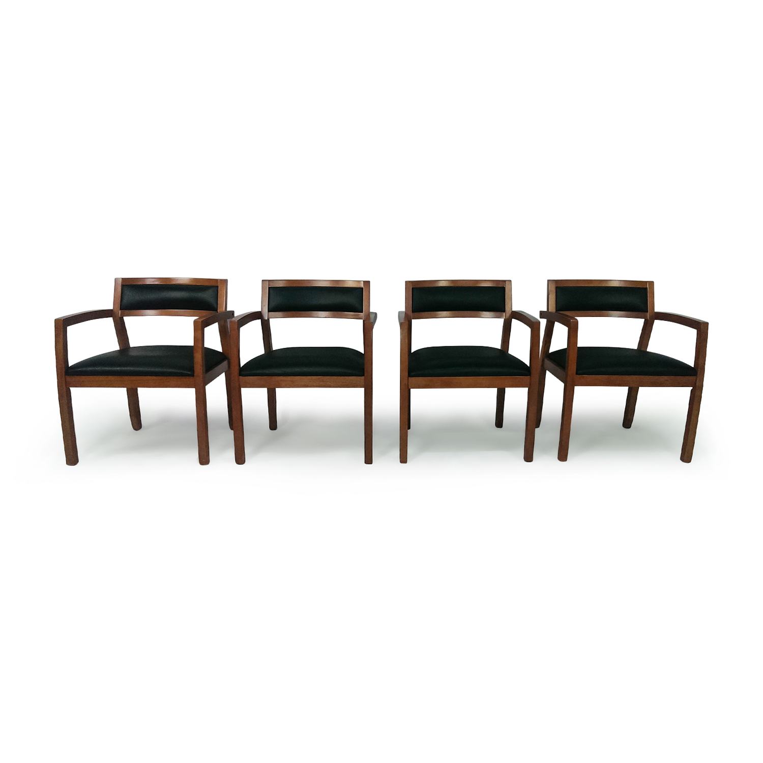 Set of 4 Office Chairs / Dining Chairs