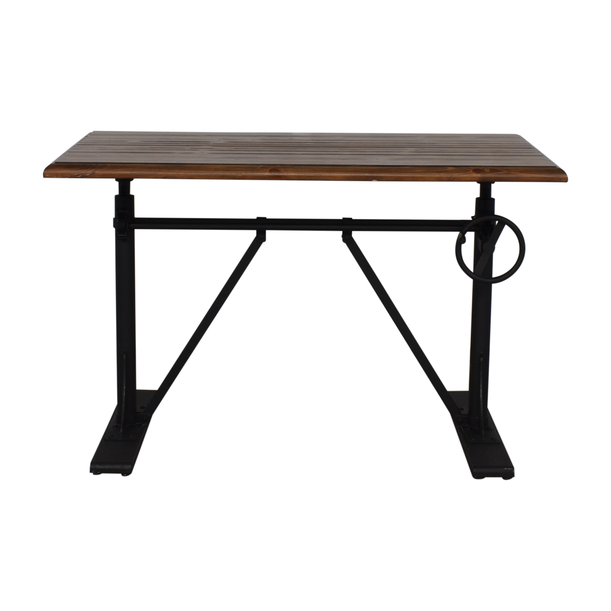 buy Pottery Barn Pittsburgh Crank Standing Desk Pottery Barn Dinner Tables