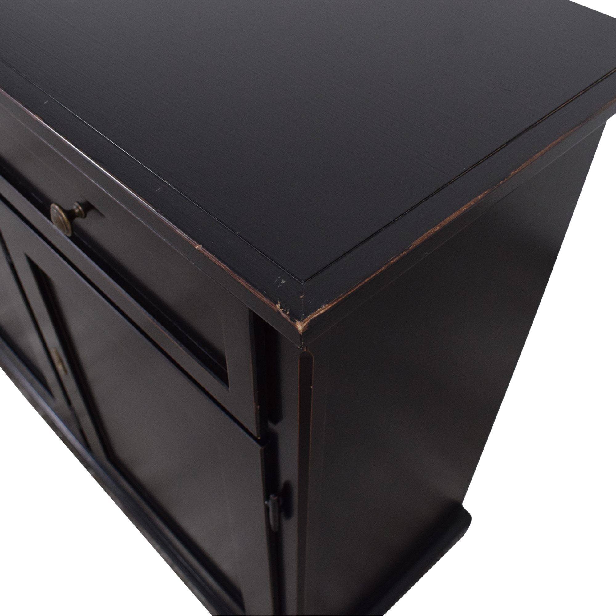 Crate & Barrel Crate & Barrel Pranzo II Sideboard black