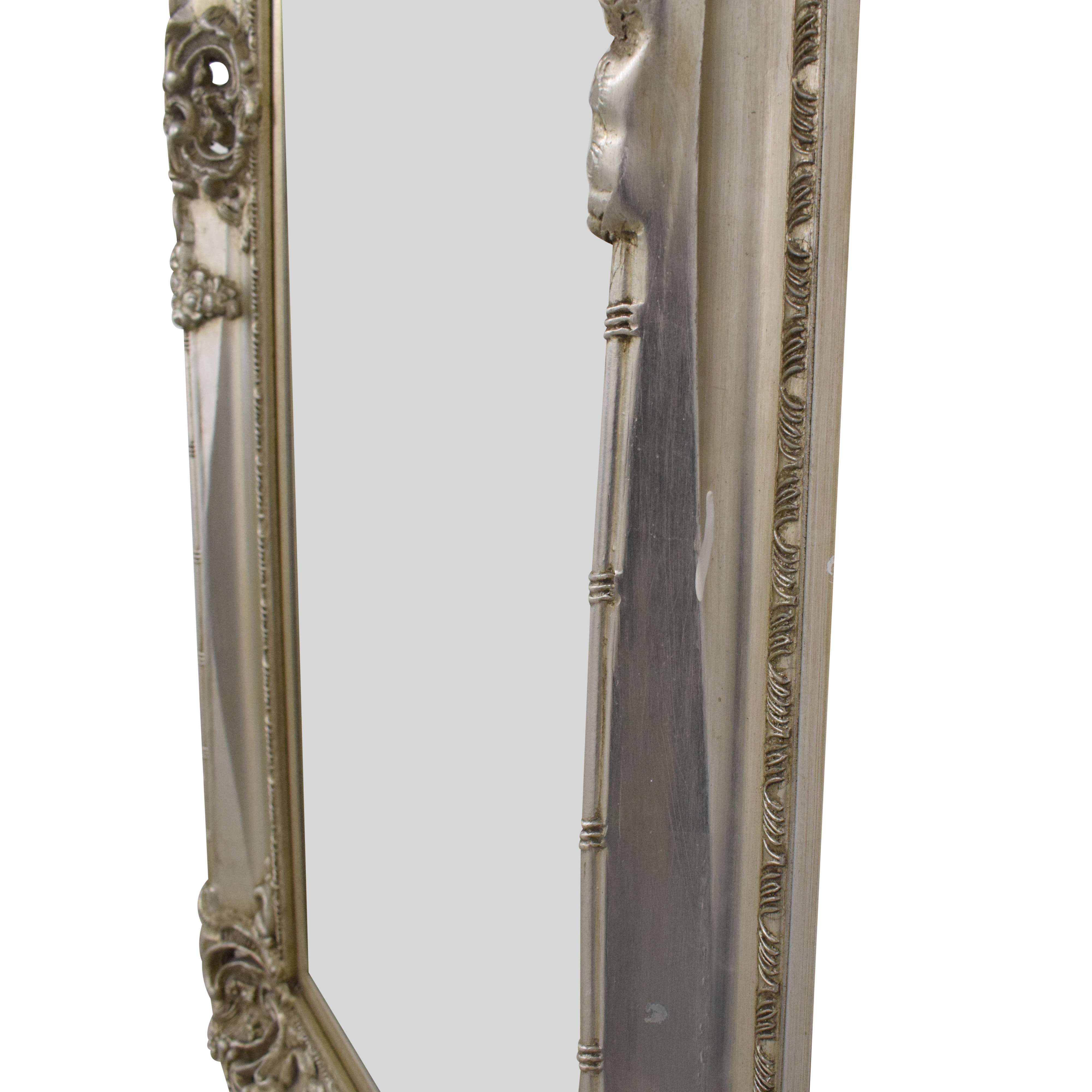 Hookes Antique Style Floor Mirror ma