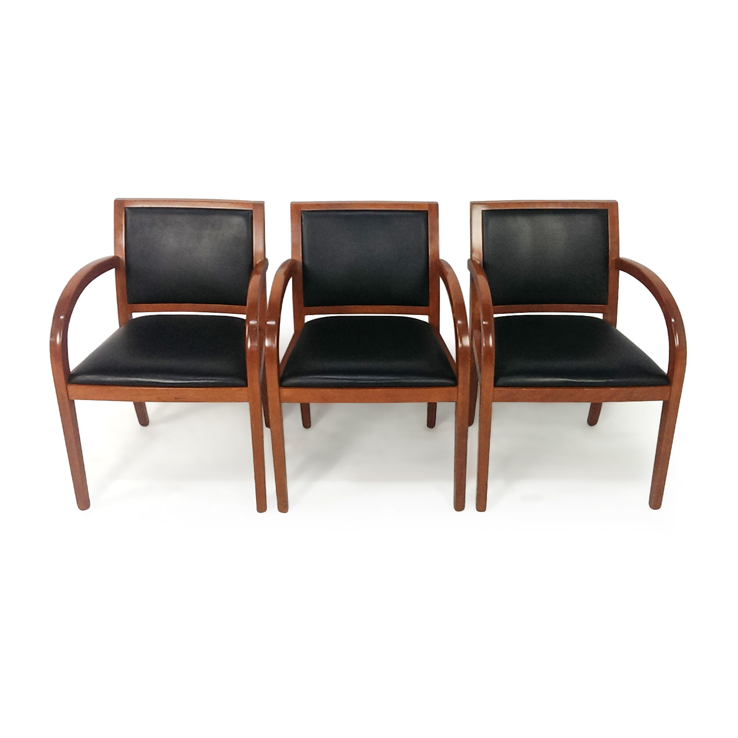 Set of 3 Accent Chairs second hand