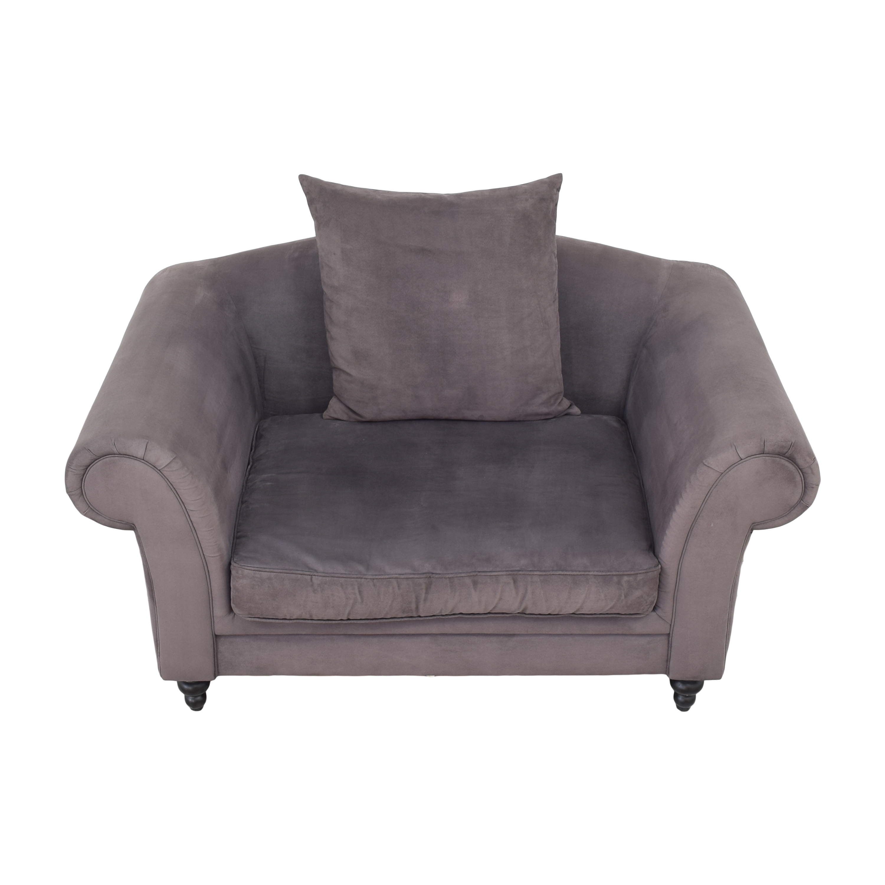 buy Rolled Arm Loveseat