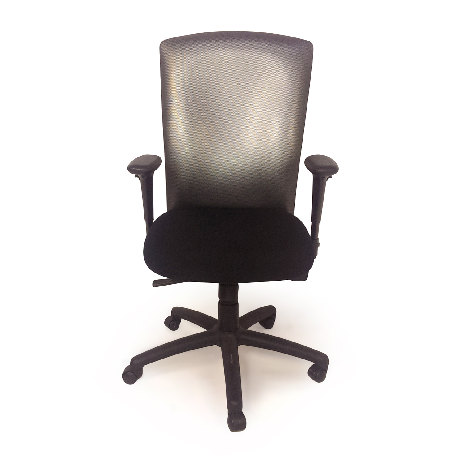 57 off black leather executive office chair chairs for Modern leather office chairs