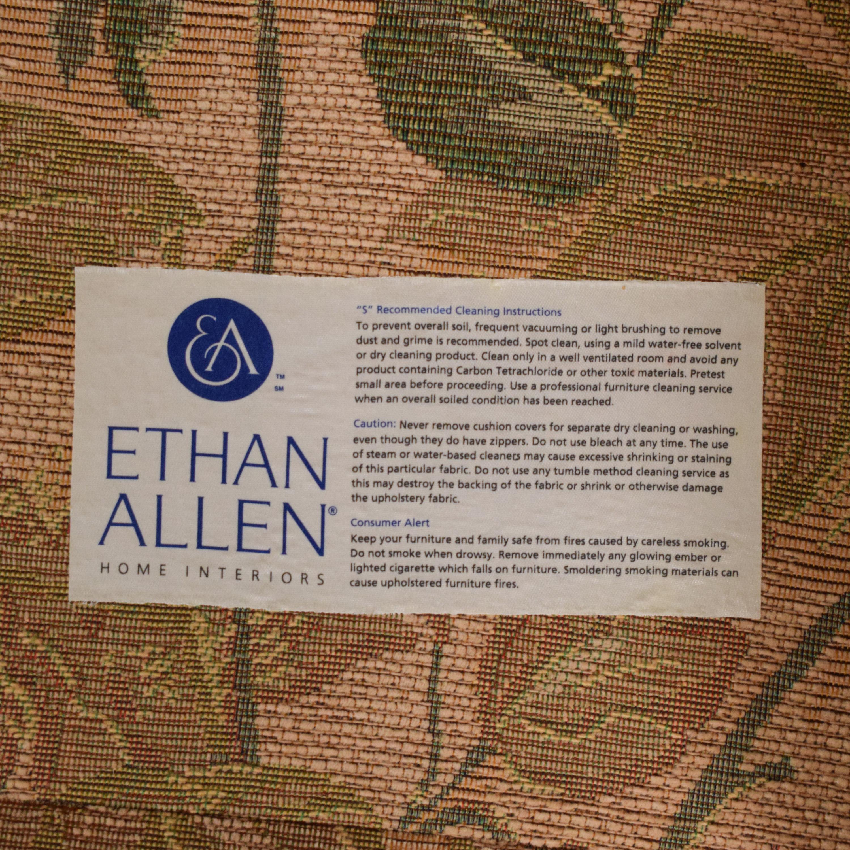 buy Ethan Allen Floral Skirted Sofa Ethan Allen Classic Sofas