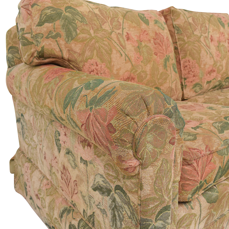 Ethan Allen Ethan Allen Floral Skirted Sofa ma
