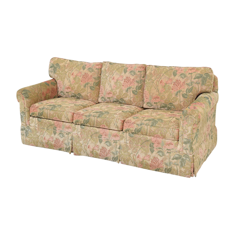 Ethan Allen Ethan Allen Floral Skirted Sofa nyc