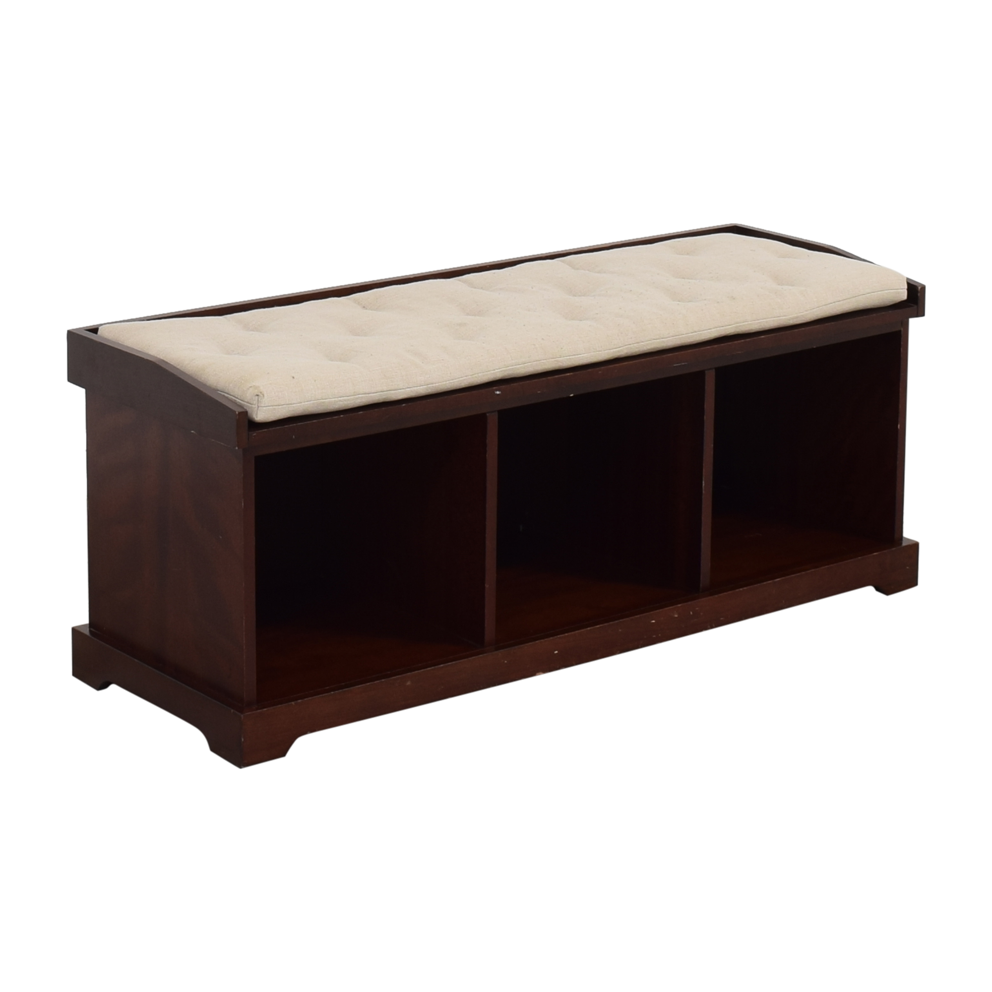 shop Pottery Barn Pottery Barn Samantha Bench with Cushion online