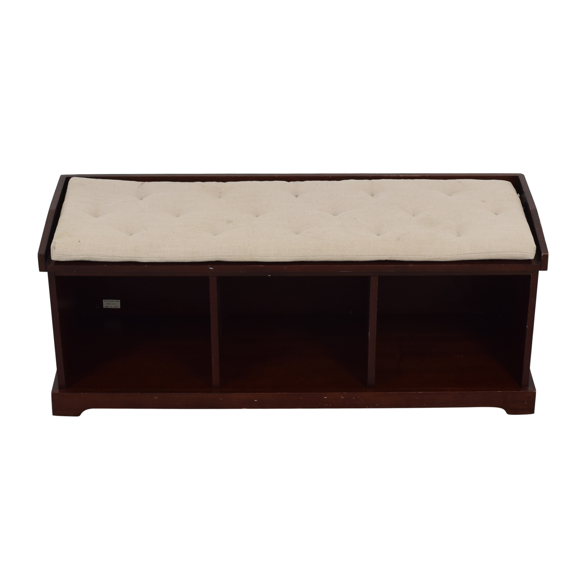 buy Pottery Barn Pottery Barn Samantha Bench with Cushion online