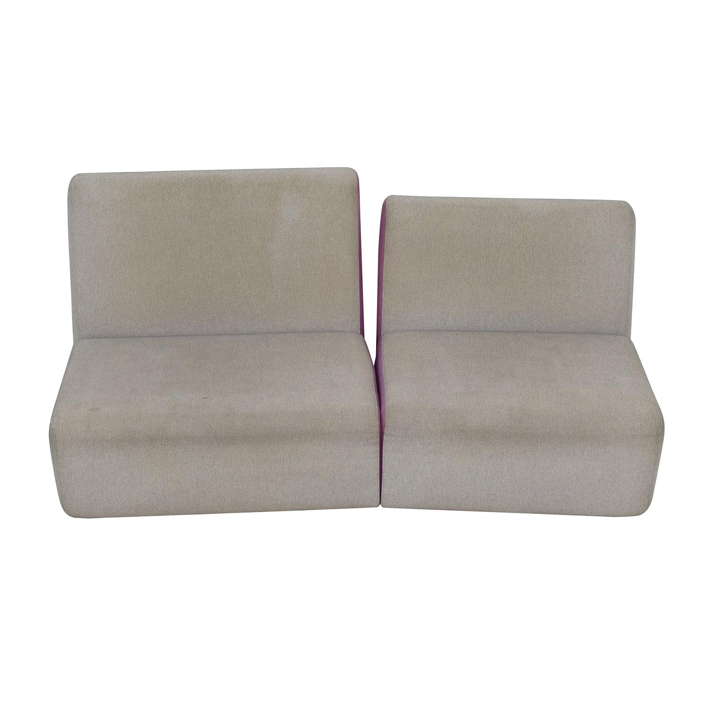 Ligne Roset Phillipe Nigro's Entailles Sofa / Classic Sofas