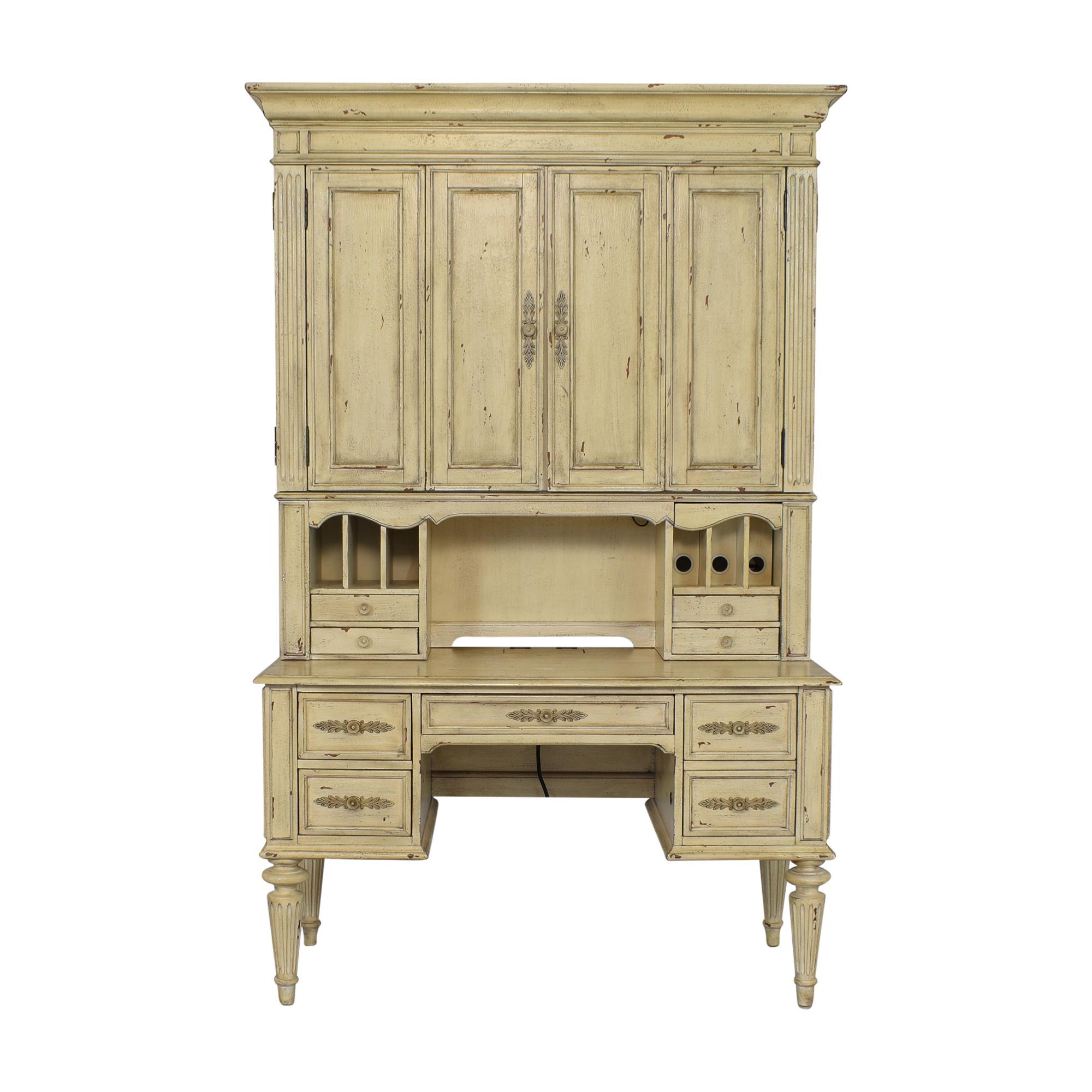 Hooker Furniture Hooker Furniture Desk with Cabinet price