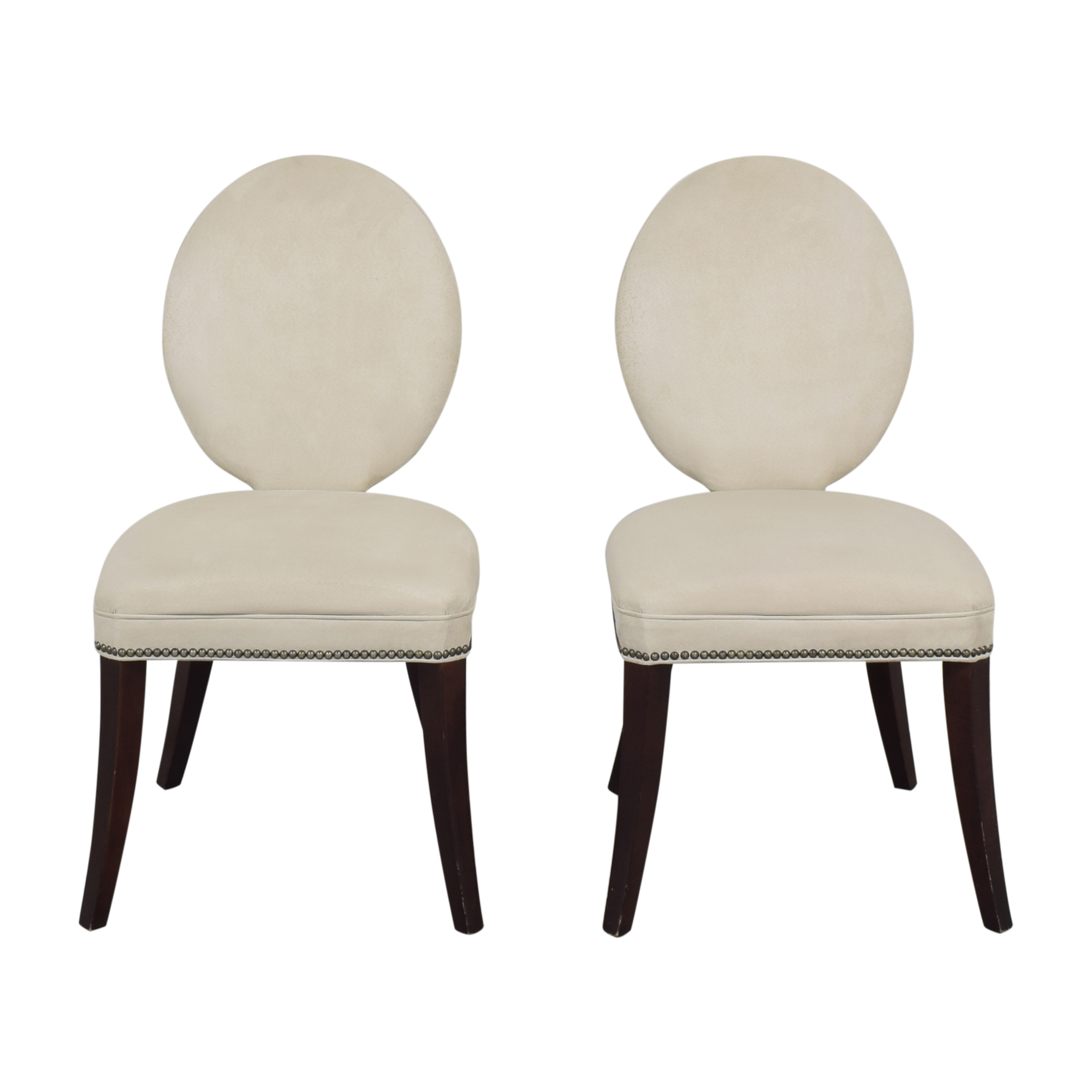 shop Mitchell Gold + Bob Williams Oval Back Side Chairs Mitchell Gold + Bob Williams Dining Chairs