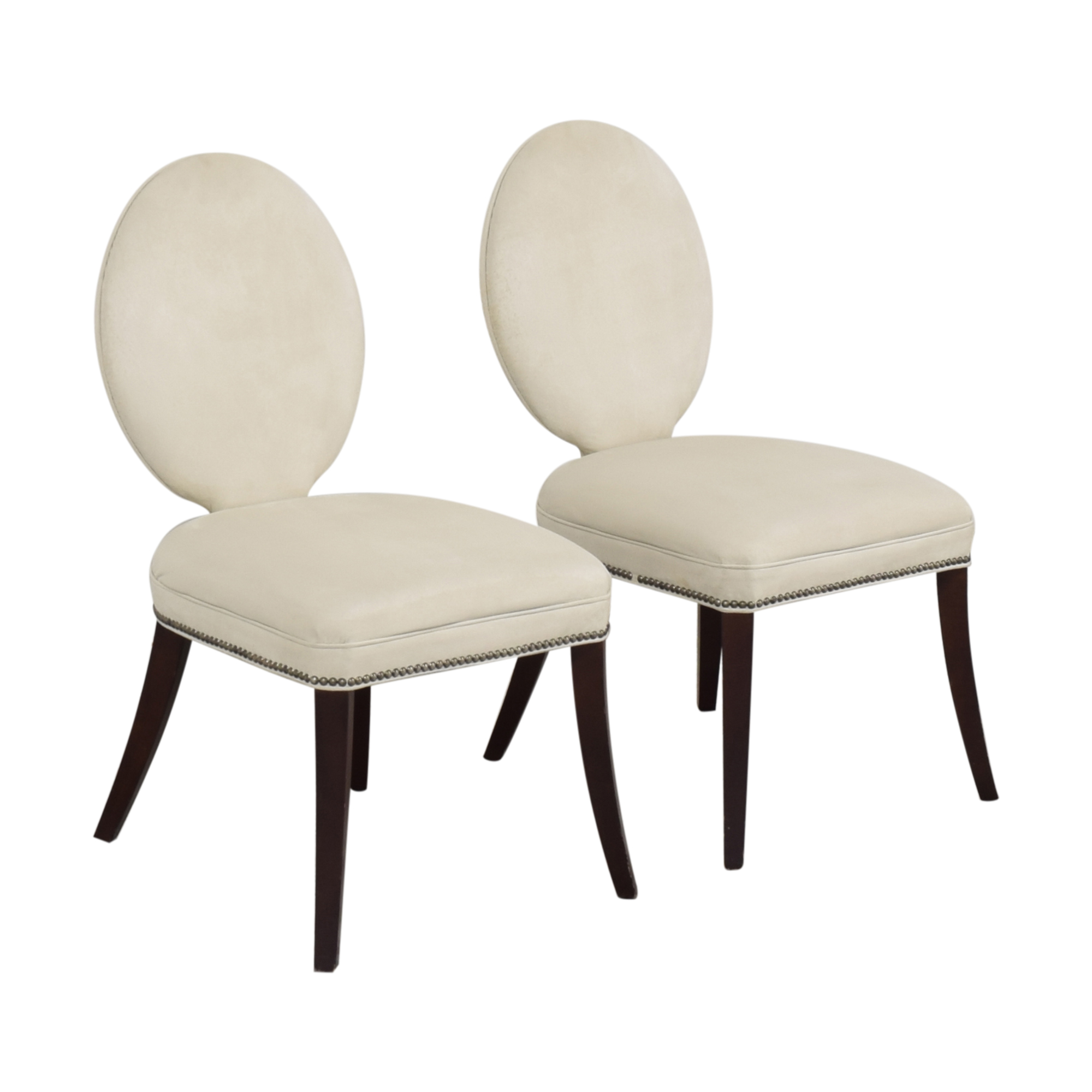 buy Mitchell Gold + Bob Williams Oval Back Side Chairs Mitchell Gold + Bob Williams